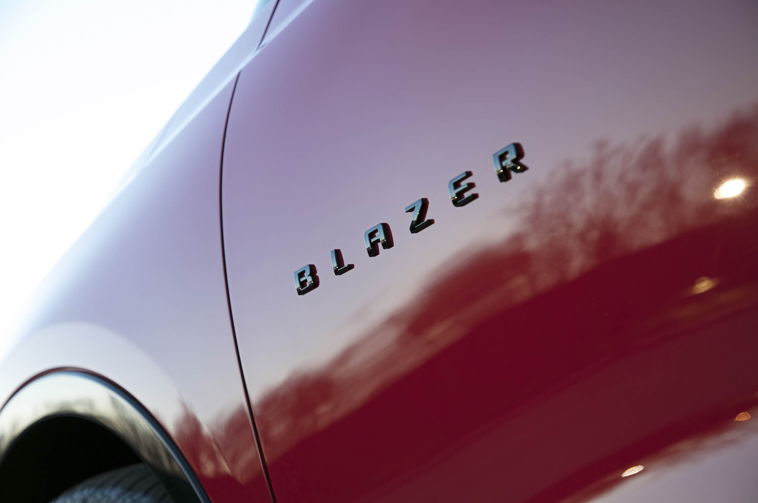 2019 Chevrolet Blazer badge detail