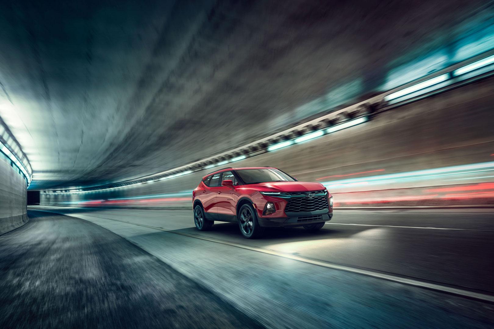 2019 Chevrolet Blazer press photo