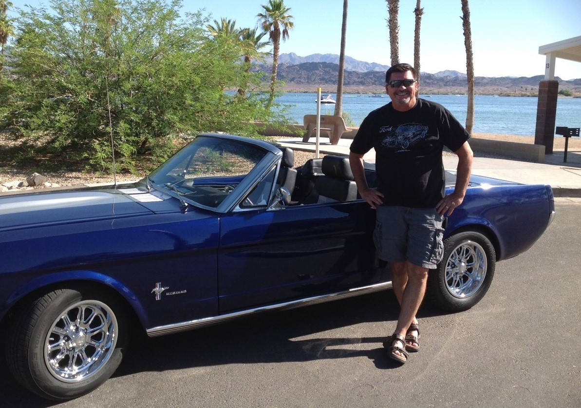 1966 Ford Mustang fully restored with Tab Lagow