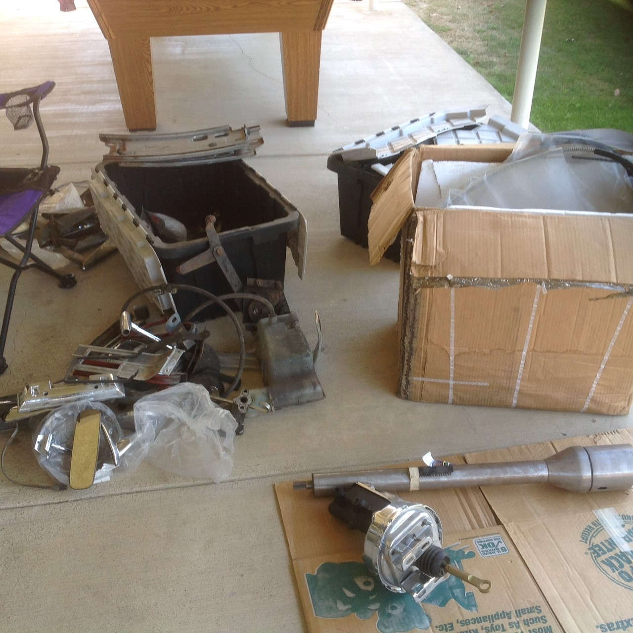 1966 Ford Mustang parts