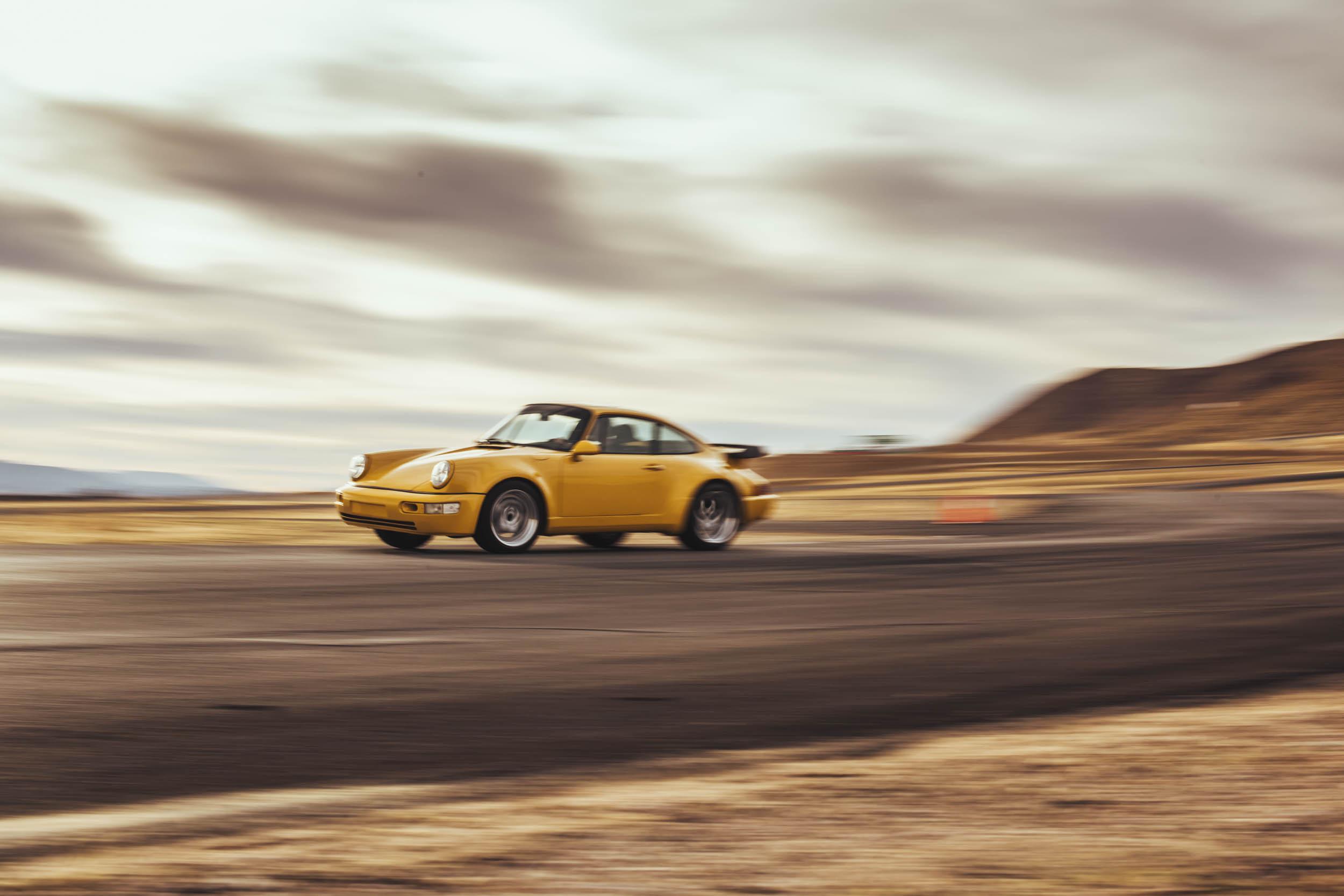 Corvette powered 1975 Porsche 911