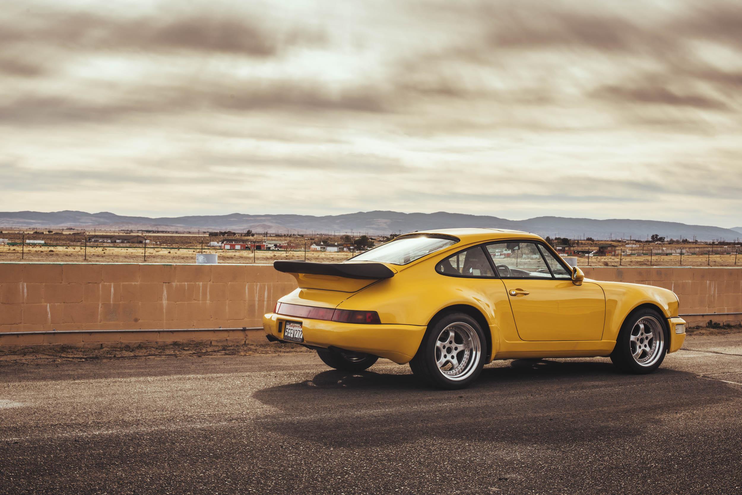1975 Porsche 911 rear 3/4