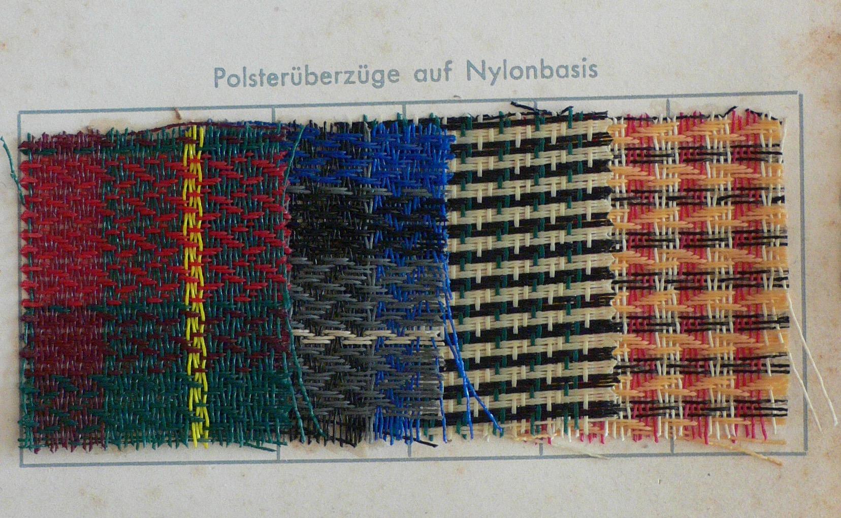 Polsterüberzüge auf Nylonbasis