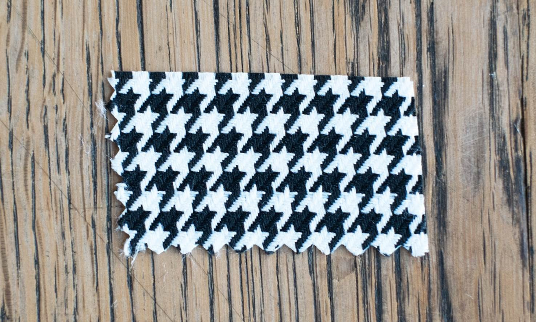 Vichy fabric pattern