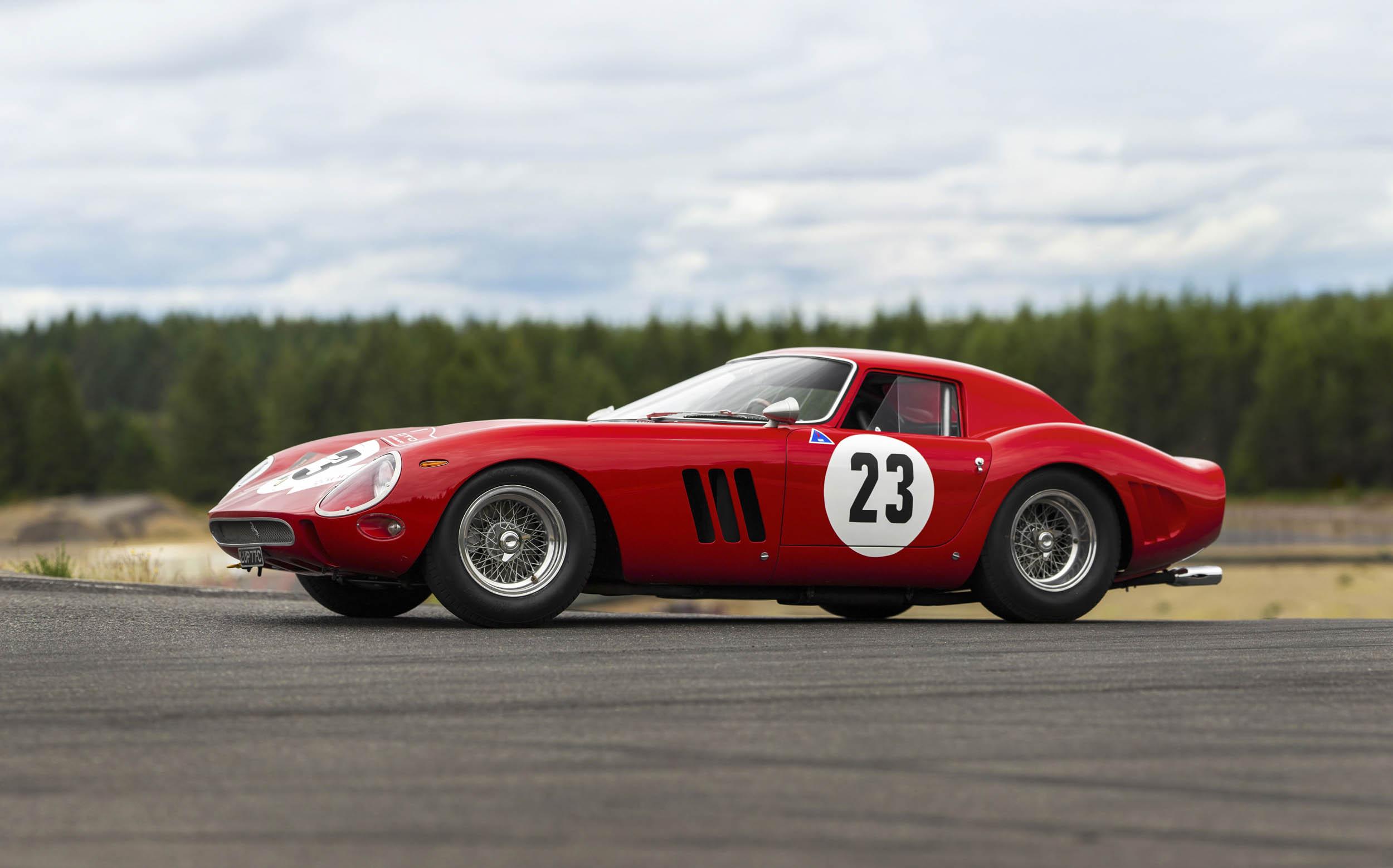 1962 Ferrari 250 GTO side profile