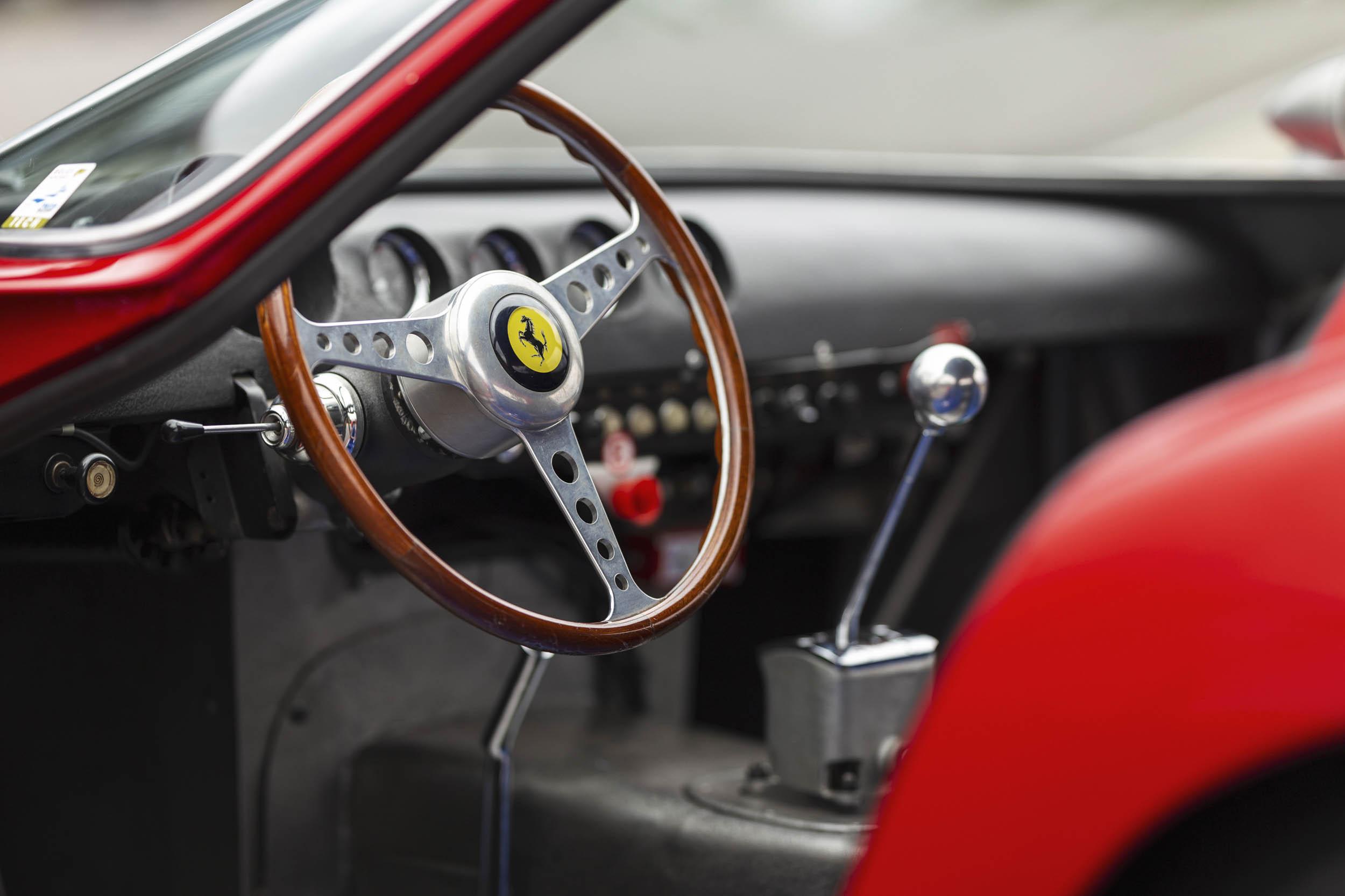 1962 Ferrari 250 GTO front interior
