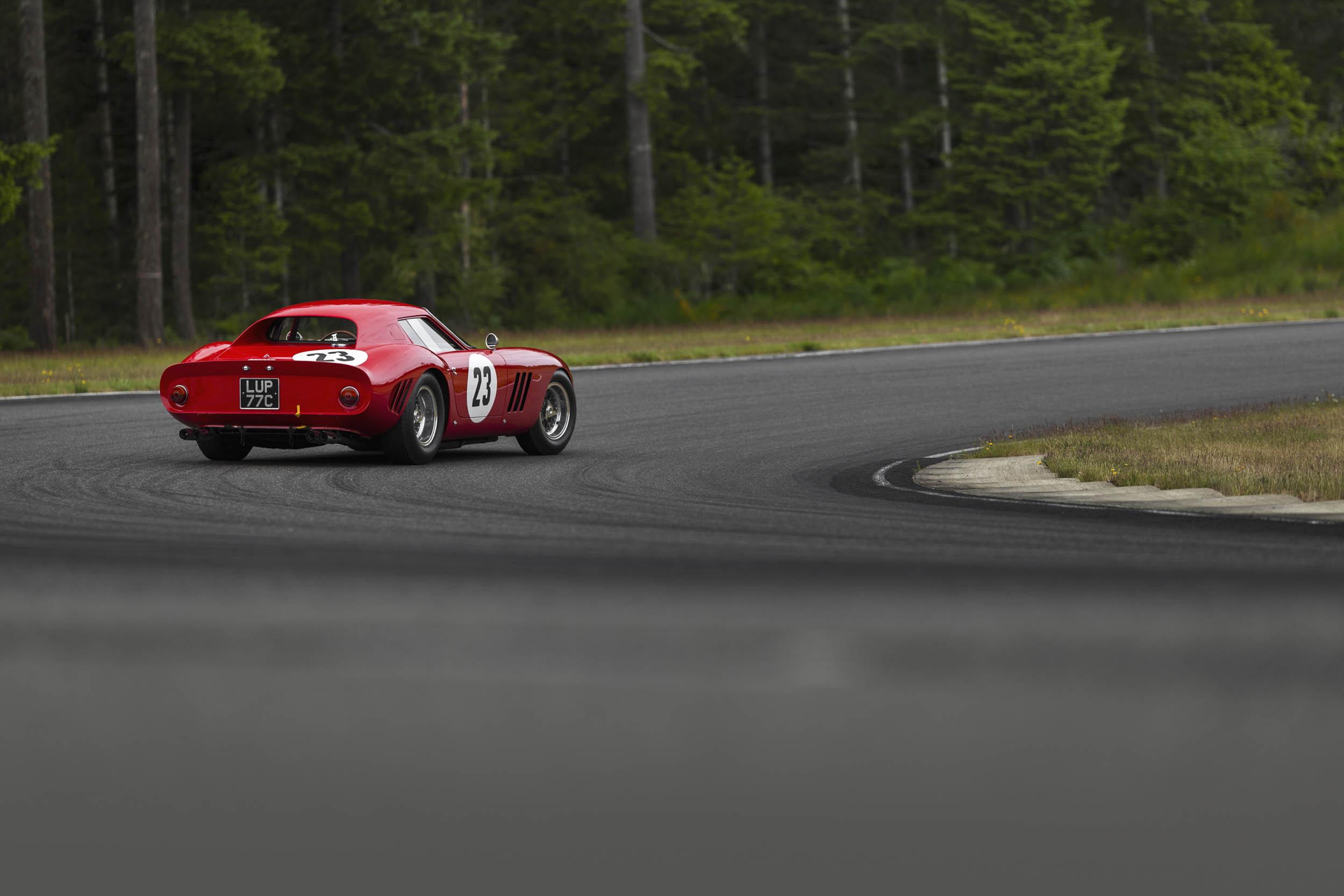 1962 Ferrari 250 GTO turning corner