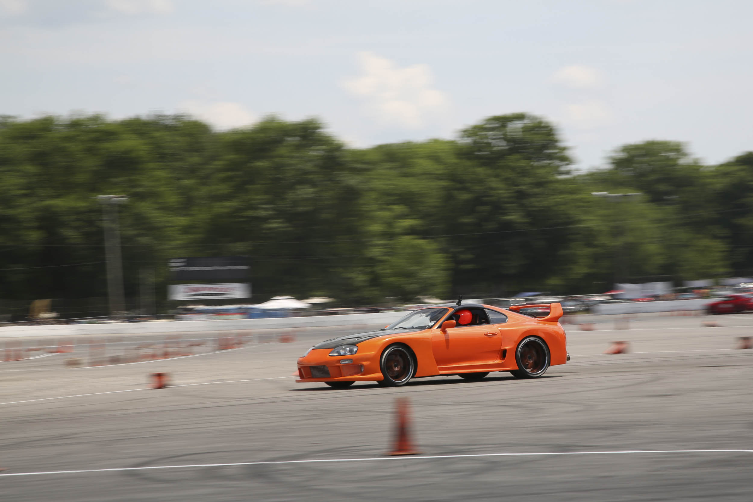 Power Tour organizers like to pick venues that offer participants something to do with their cars, so at least a couple of the venues will include an autocross course or a dragstrip. Beech Bend, in Bowling Green, Kentucky, had both.