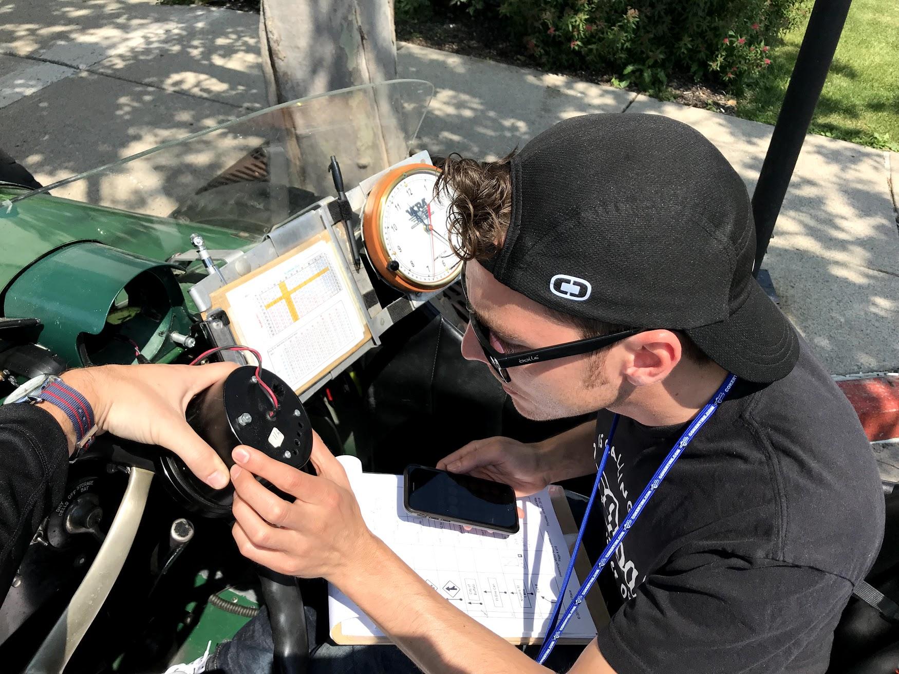 Calibrating the speedometer