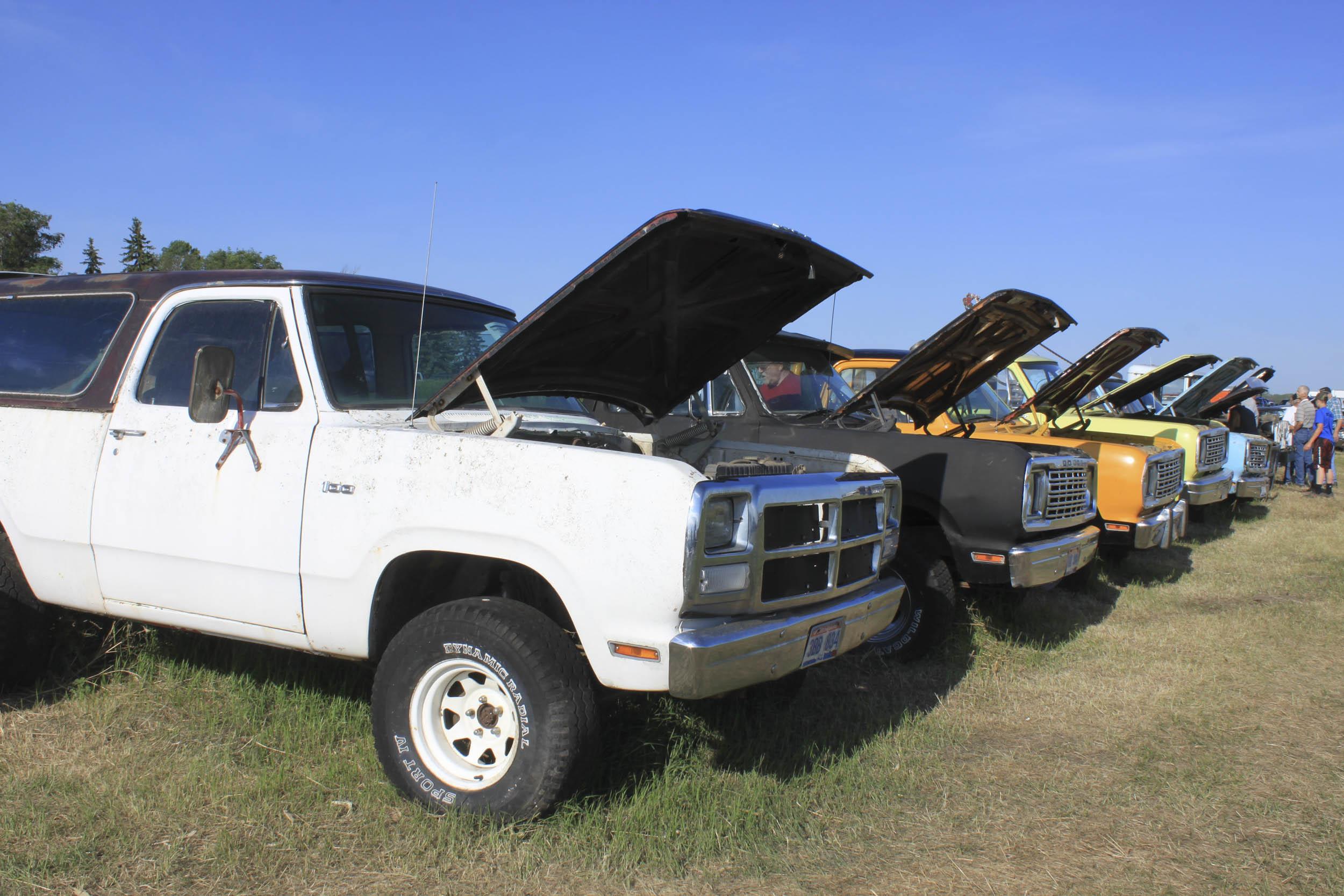 line of pickup trucks for sale