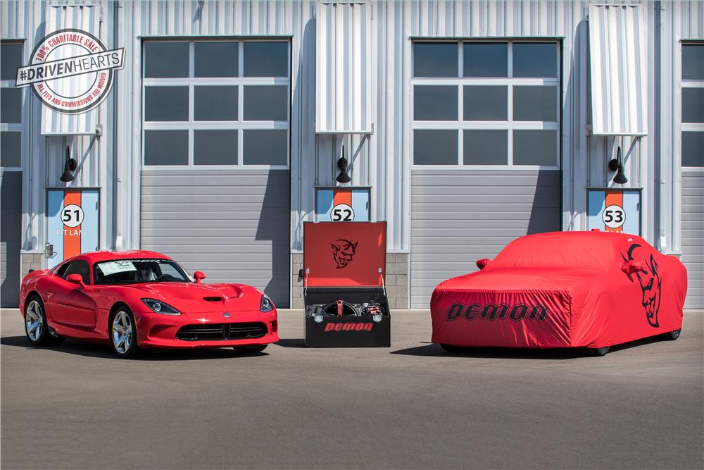 Final 2017 Dodge Viper and 2018 Challenger SRT Demon