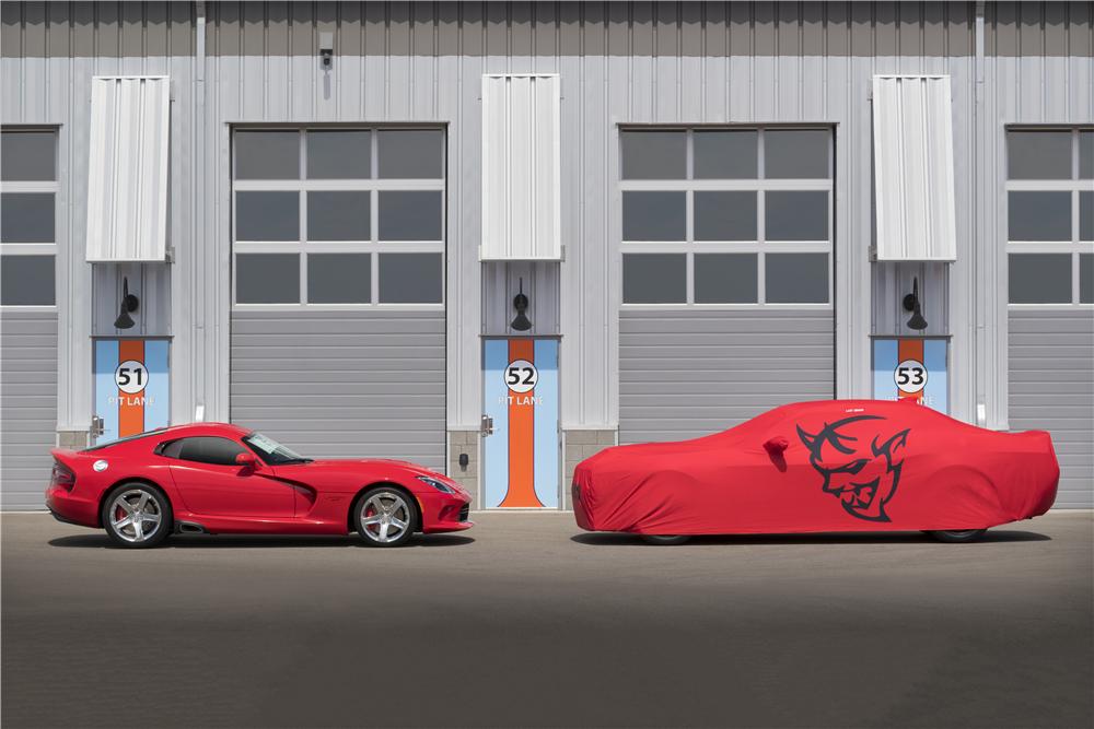 Final 2017 Dodge Viper and 2018 Challenger SRT Demon profile