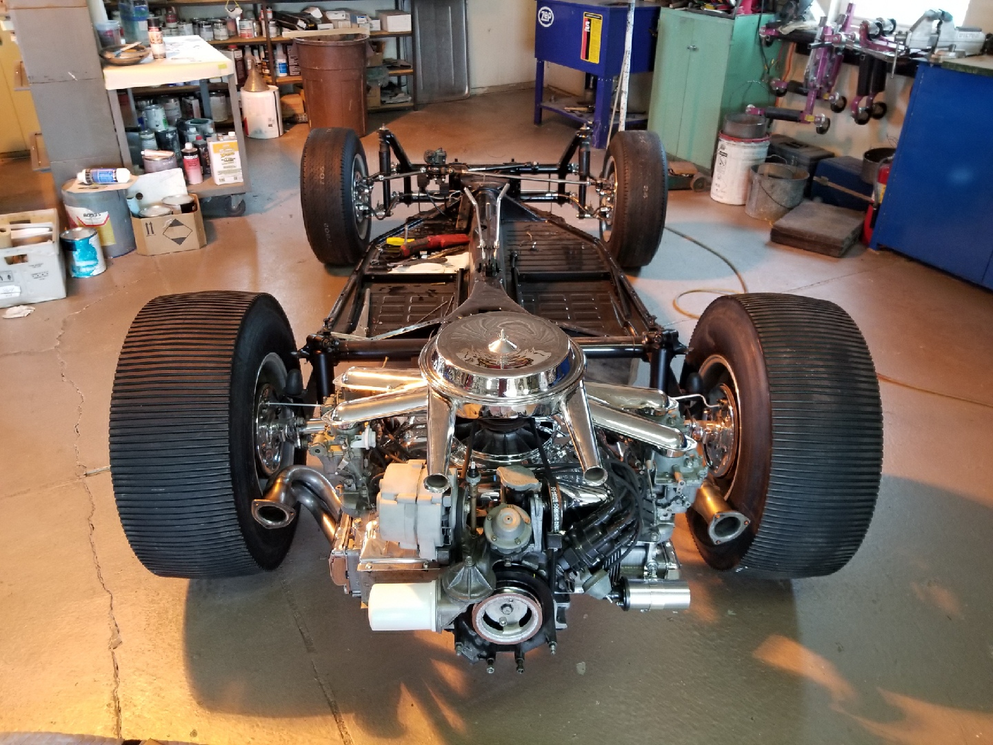 "McQueen's Queen Manx buggy from ""The Thomas Crown Affair"" restoration"
