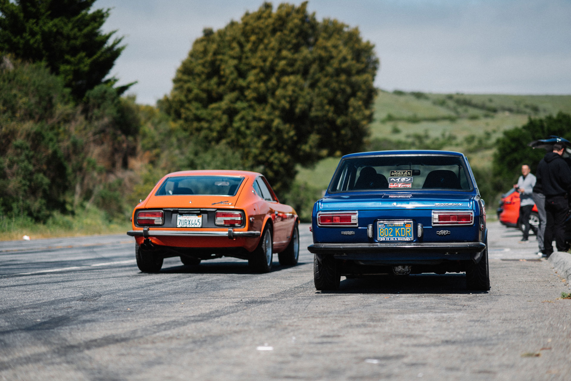 Datsun 510 and Datsun 240Z