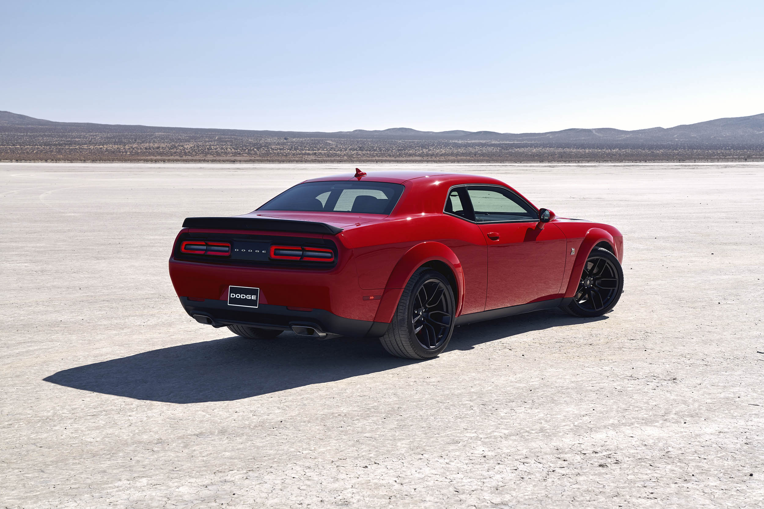 2019 Dodge Challenger R/T Scat Pack Widebody rear 3/4