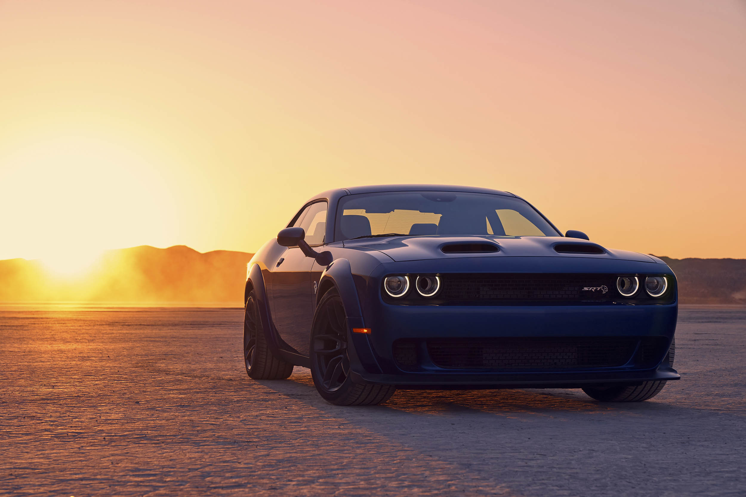 2019 Dodge Challenger SRT Hellcat Widebody front