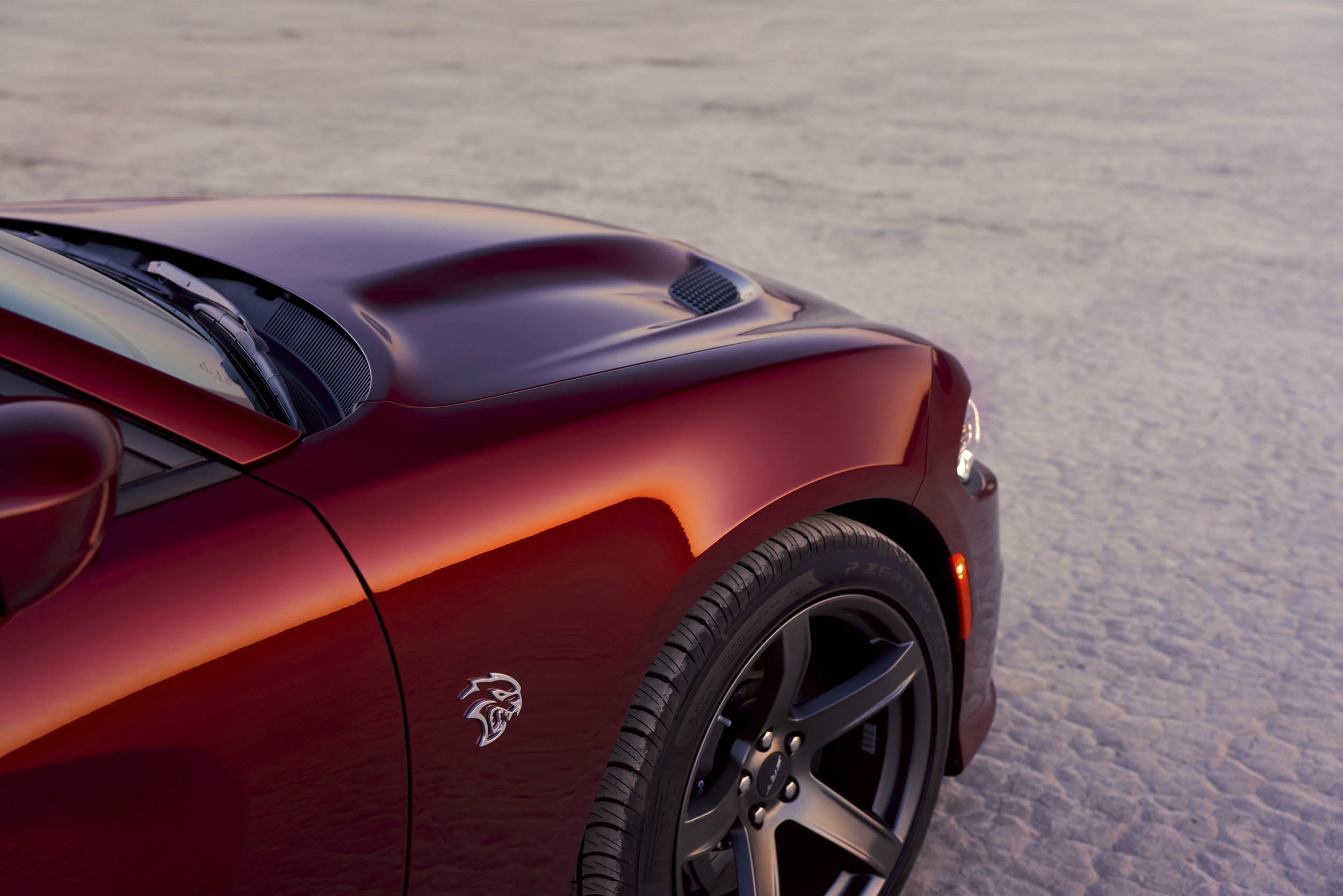 2019 Dodge Charger SRT Hellcat front close-up