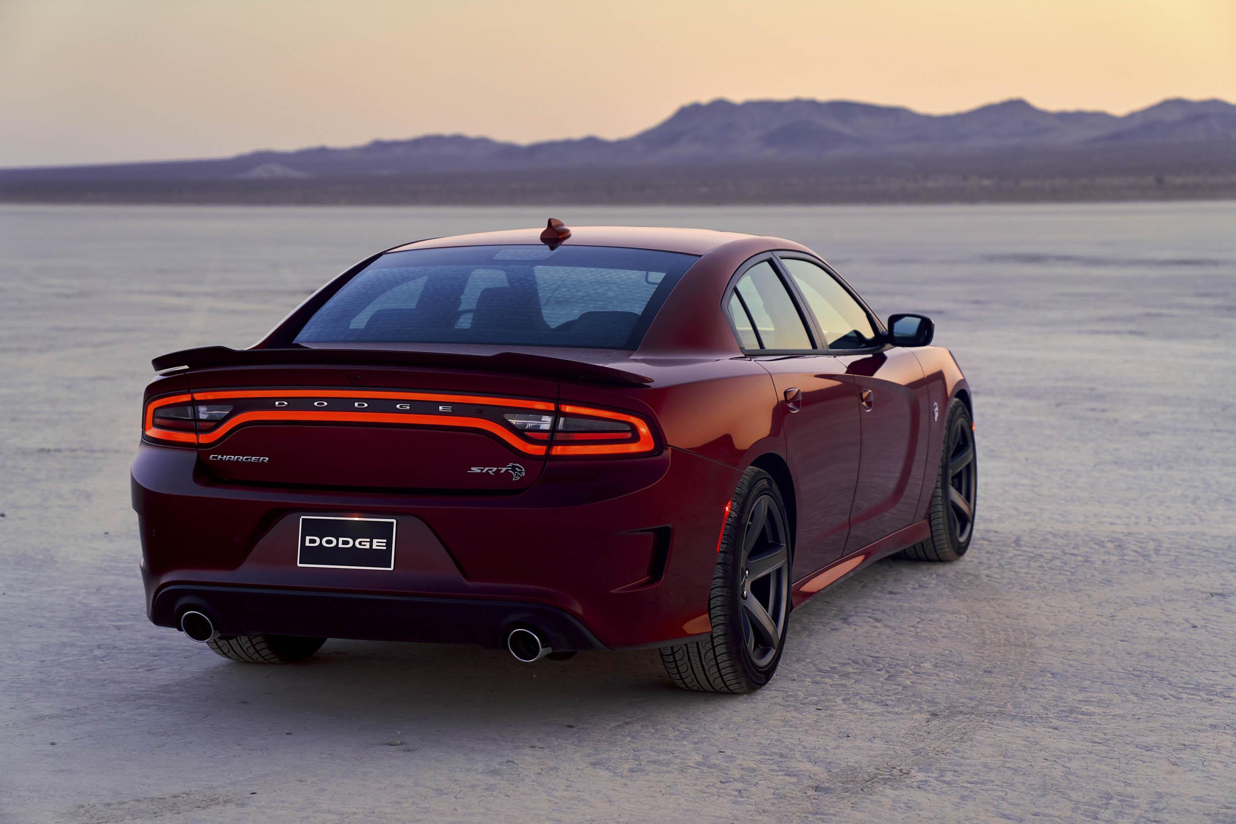 2019 Dodge Charger SRT Hellcat back