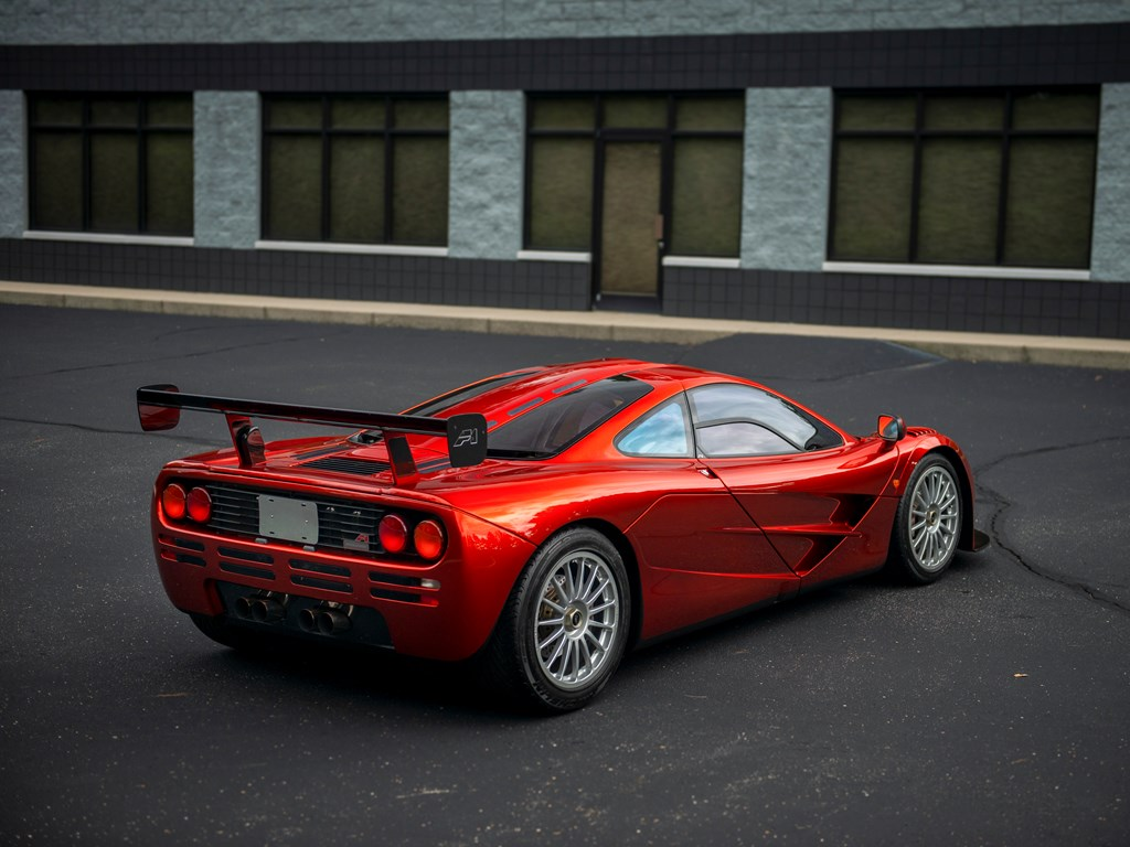 1998 McLaren F1 'LM-Specification' rear 3/4