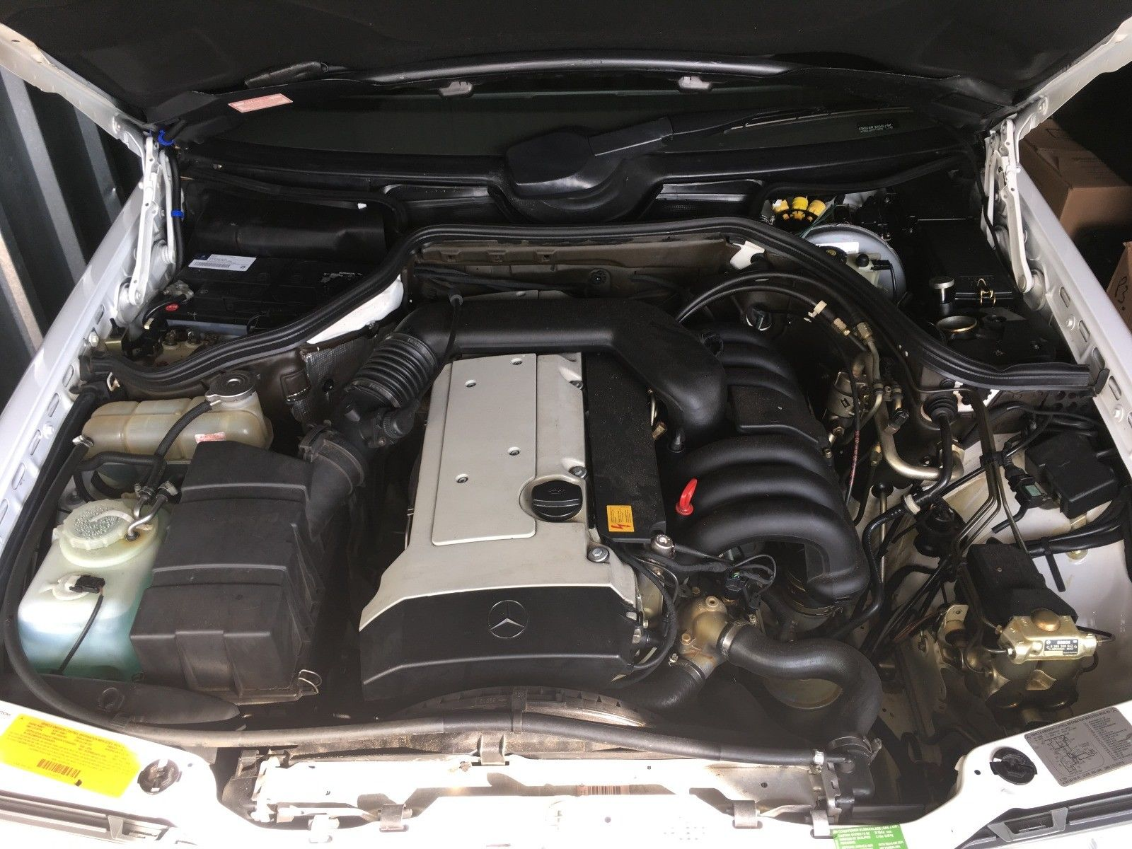 1995 Mercedes-Benz E-Class engine