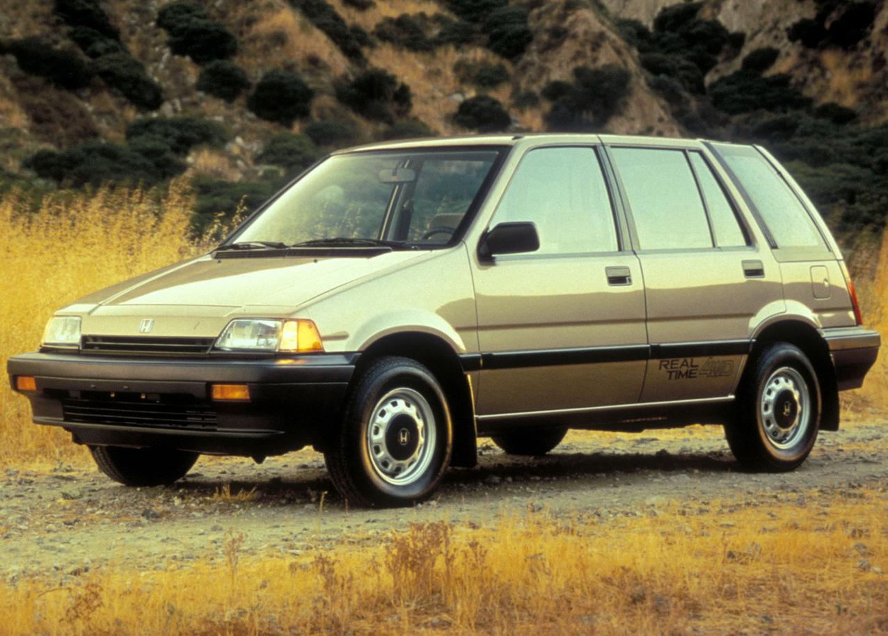 1984 Honda Civic Wagovan