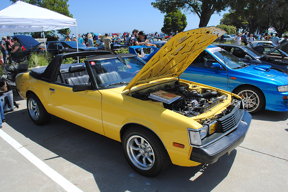 1981 Toyota Sunchaser hood open
