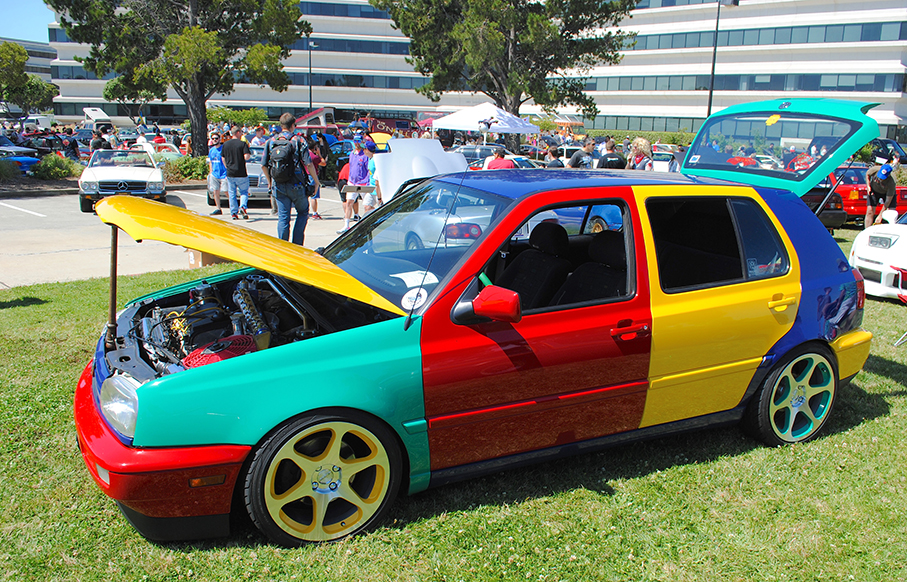 VW multicolor