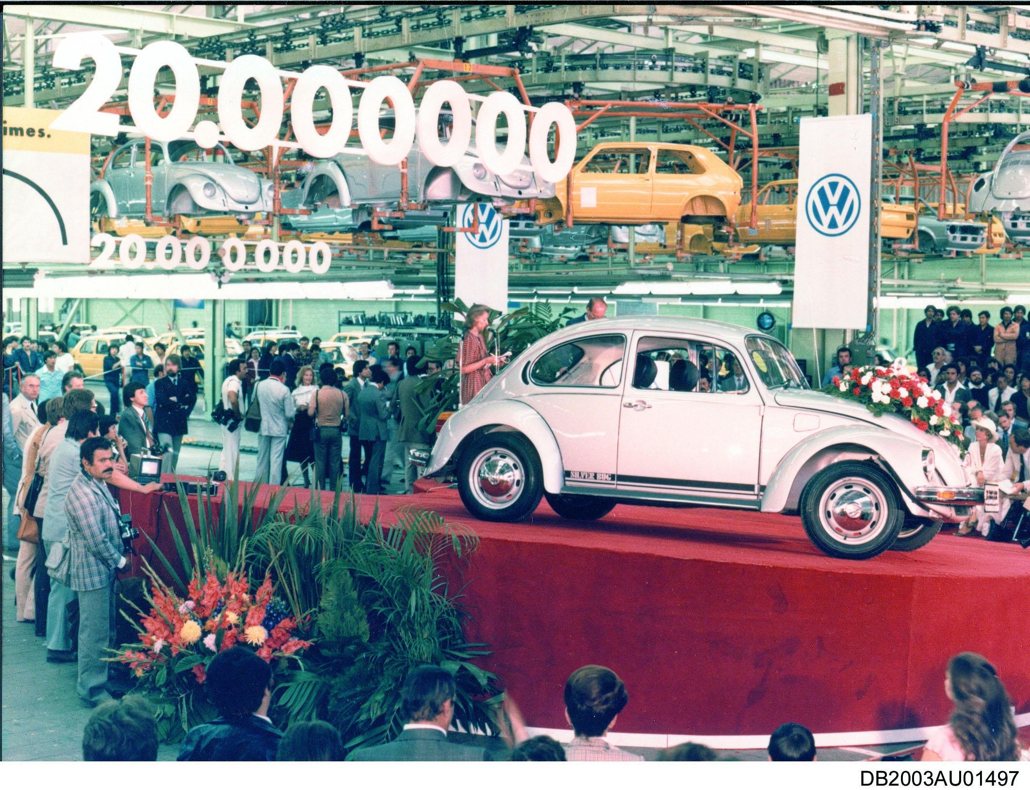 20 millionth Volkswagen beetle