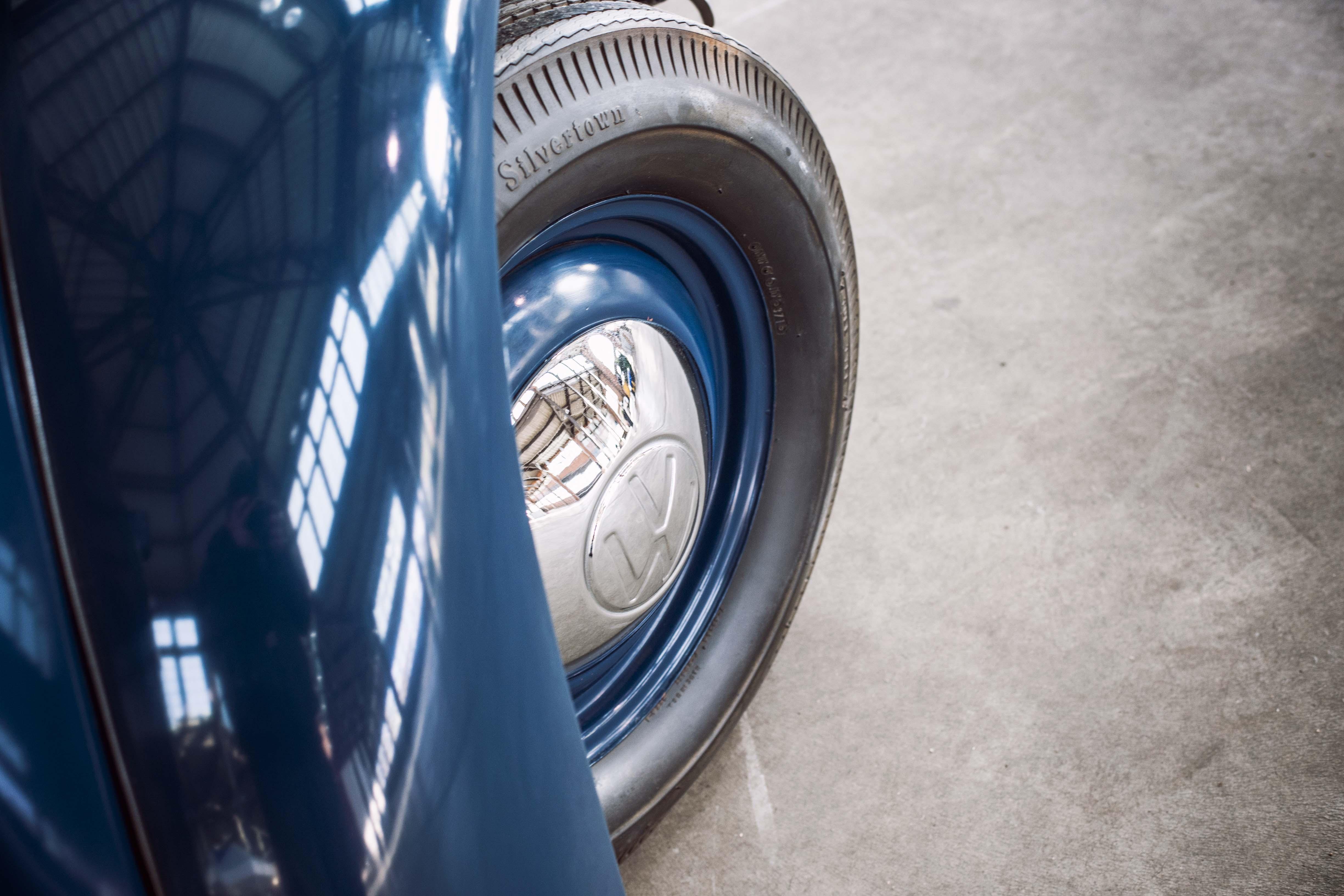 1949 Volkswagen tire