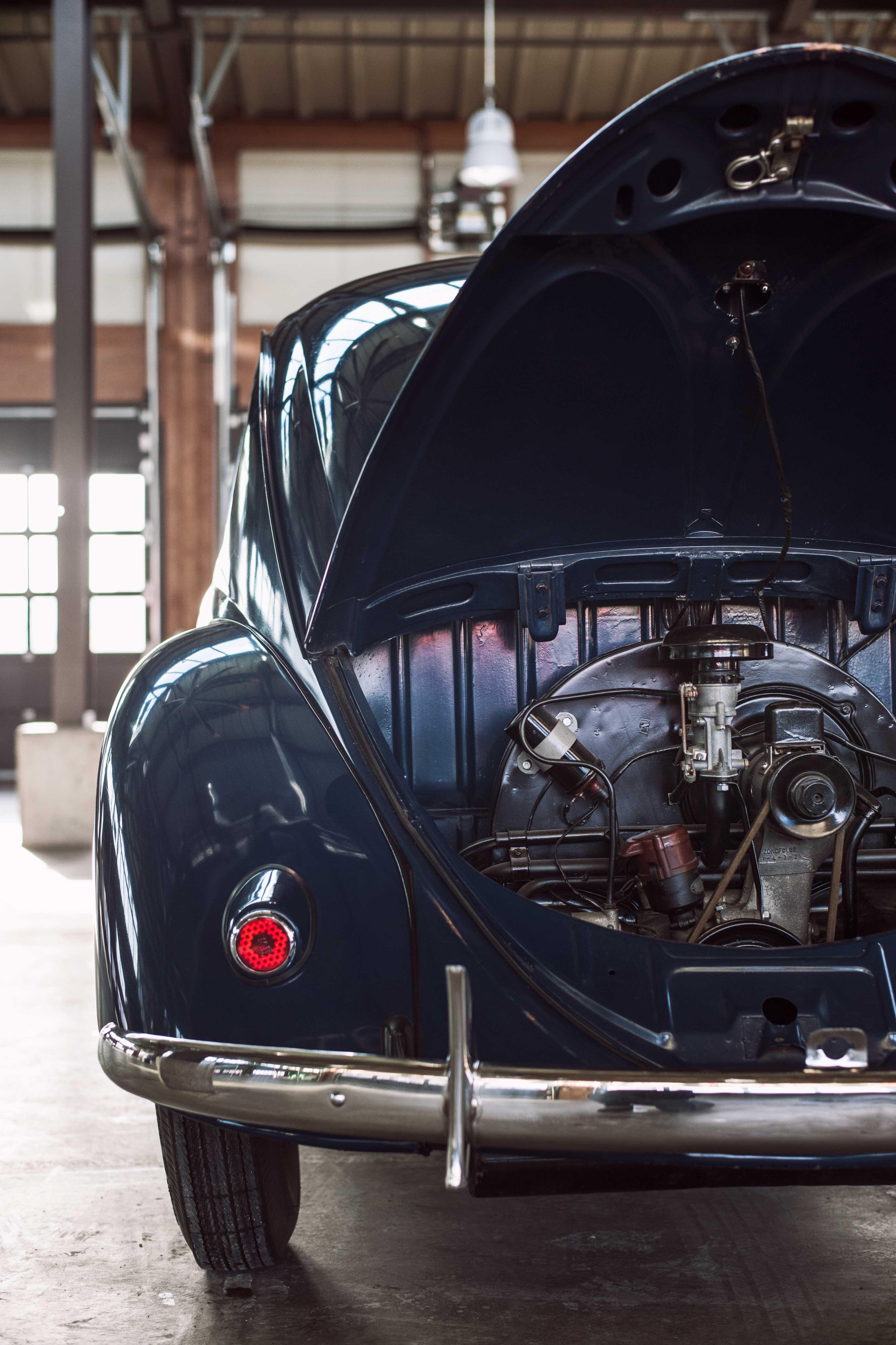 1949 Volkswagen engine