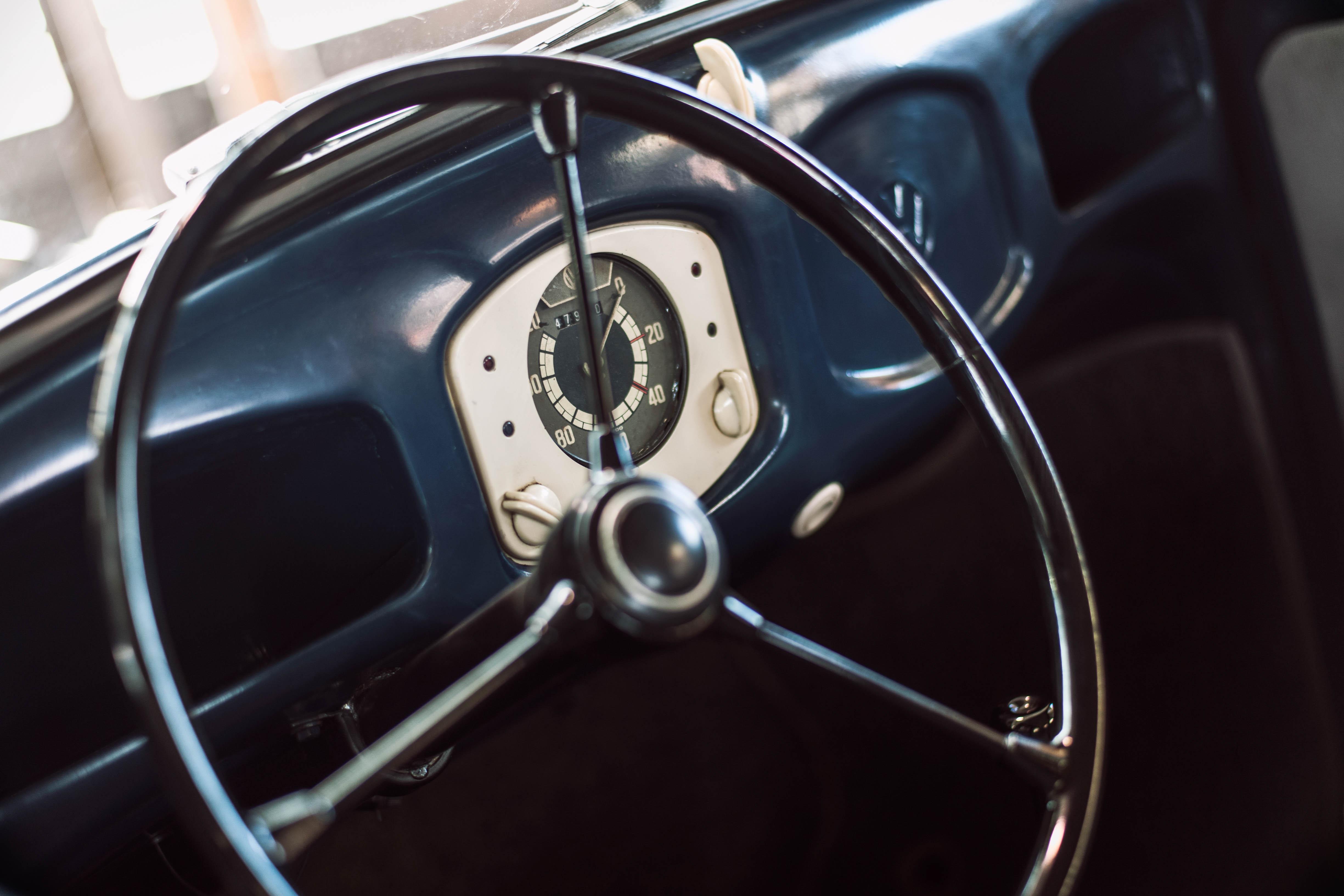 1949 Volkswagen steering wheel