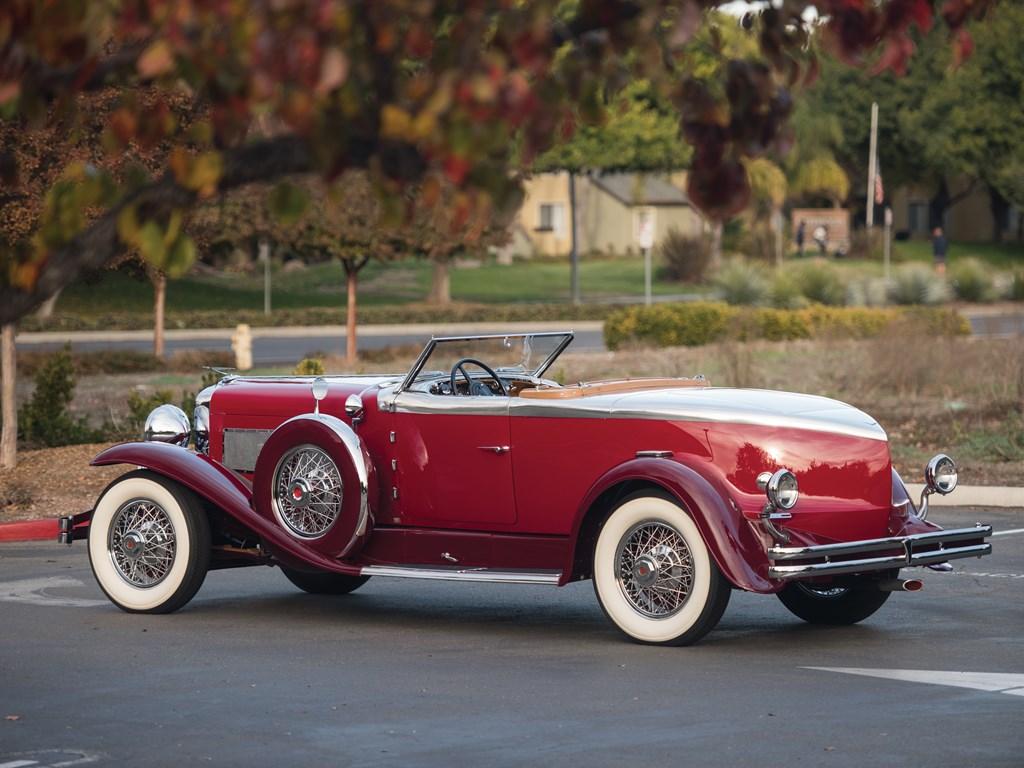 1949 Duesenberg Model J back 3/4