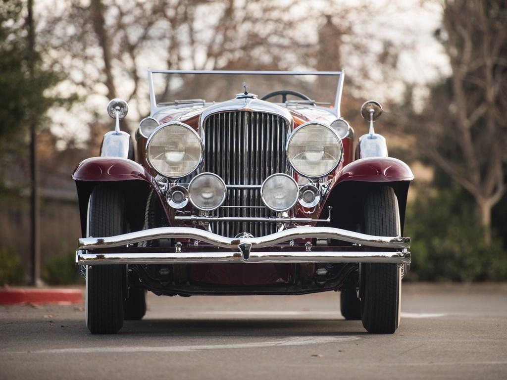 1949 Duesenberg Model J front