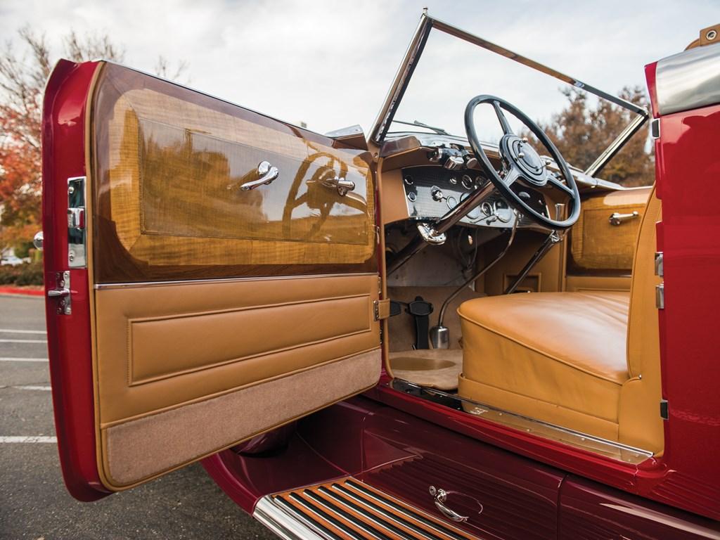 1949 Duesenberg Model J interior