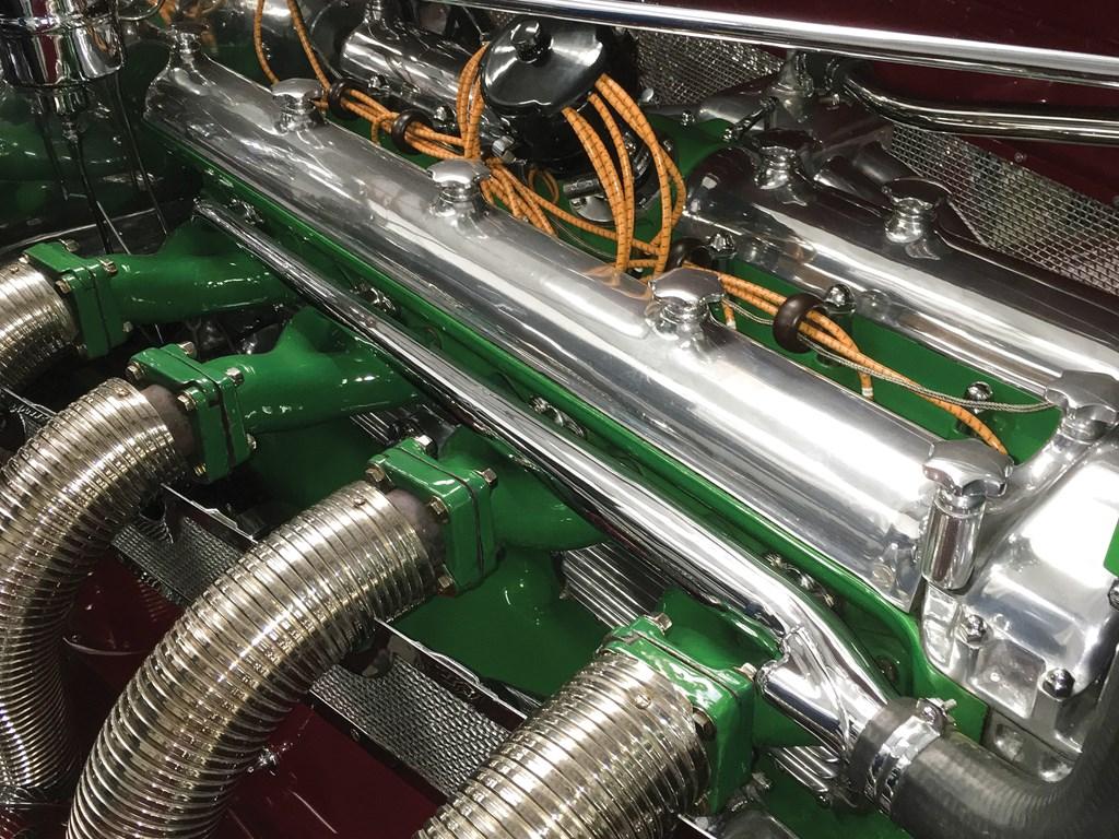 1949 Duesenberg Model J engine