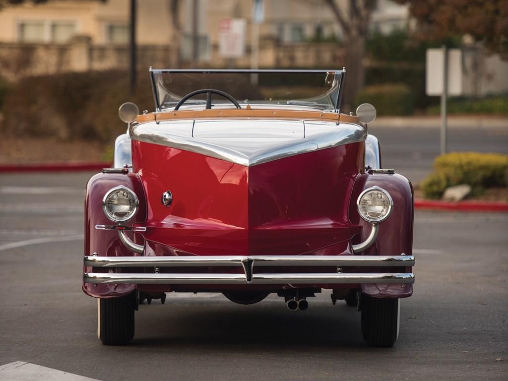 1949 Duesenberg Model J back