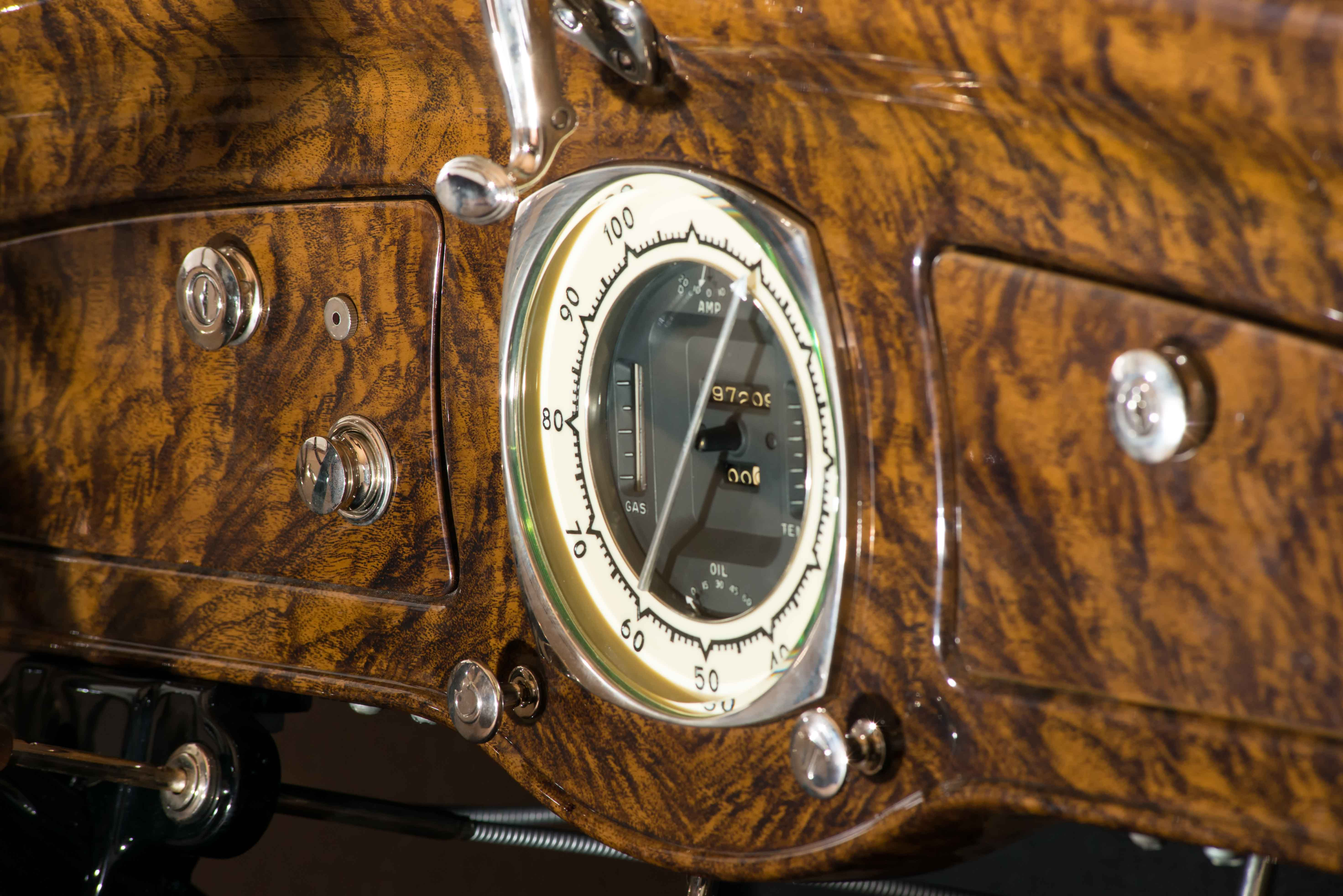 1932 Graham Blue Streak speedometer