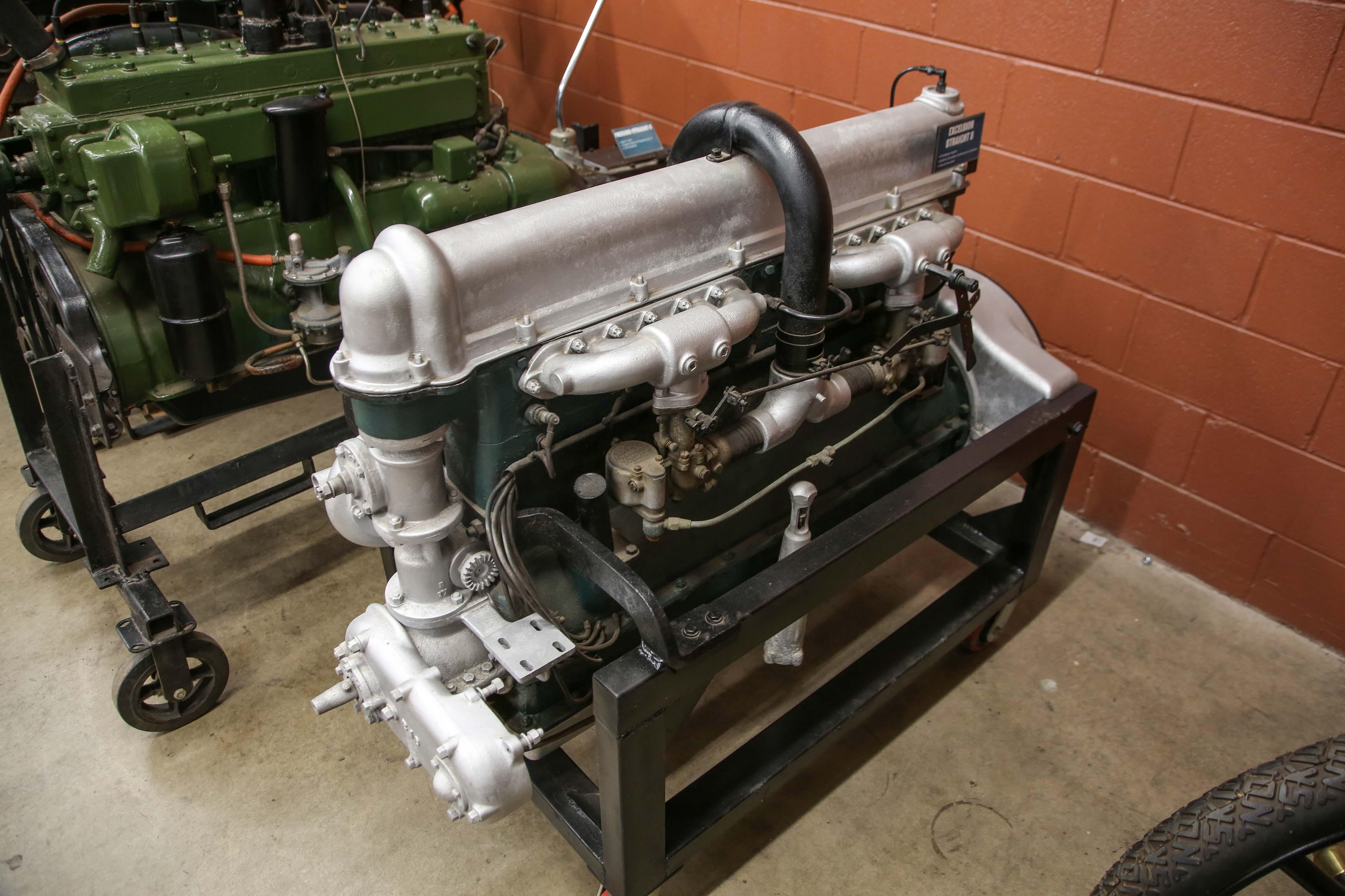 Coker Tire Excelsior engine