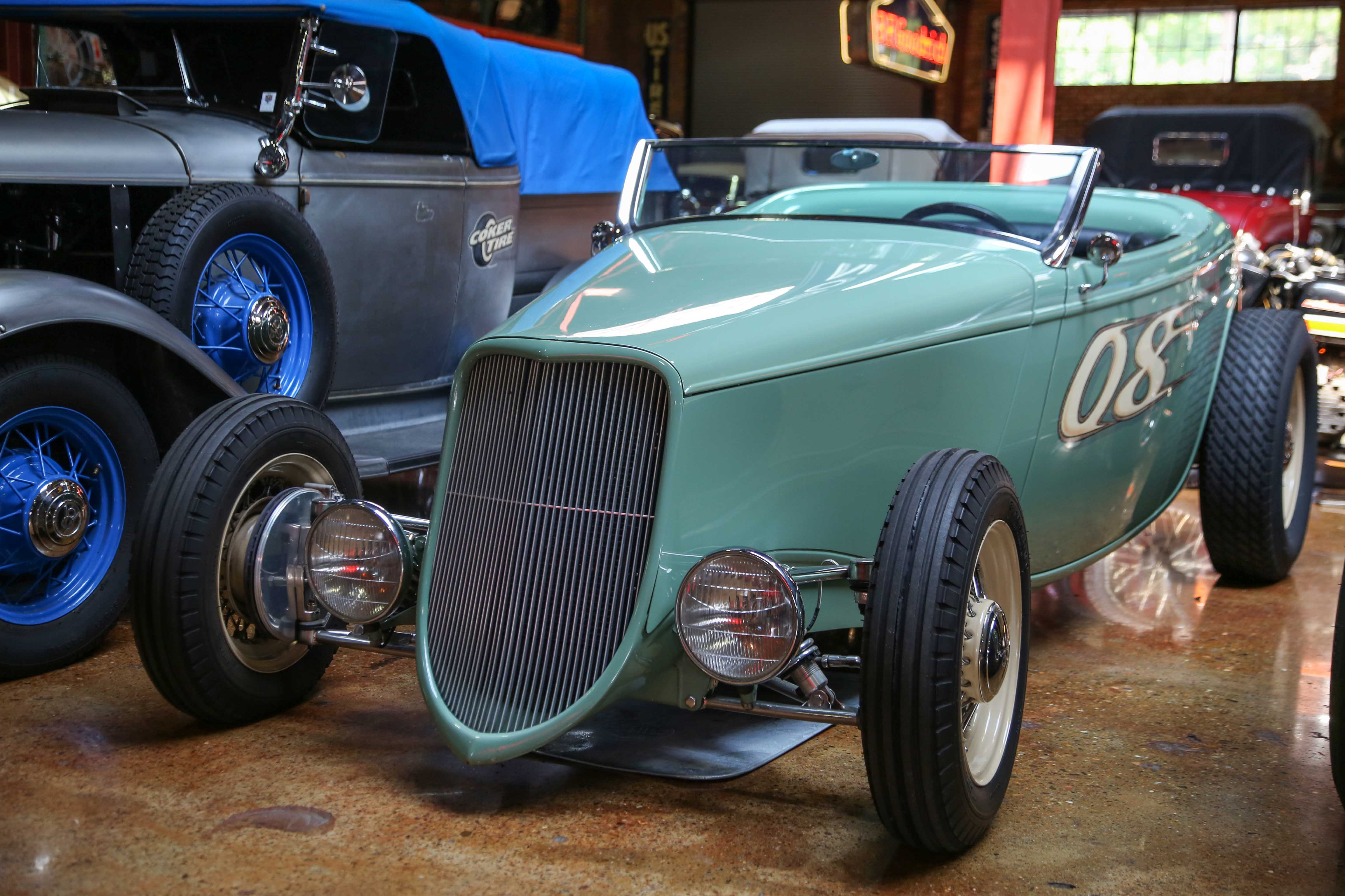 Coker Tire Museum race car