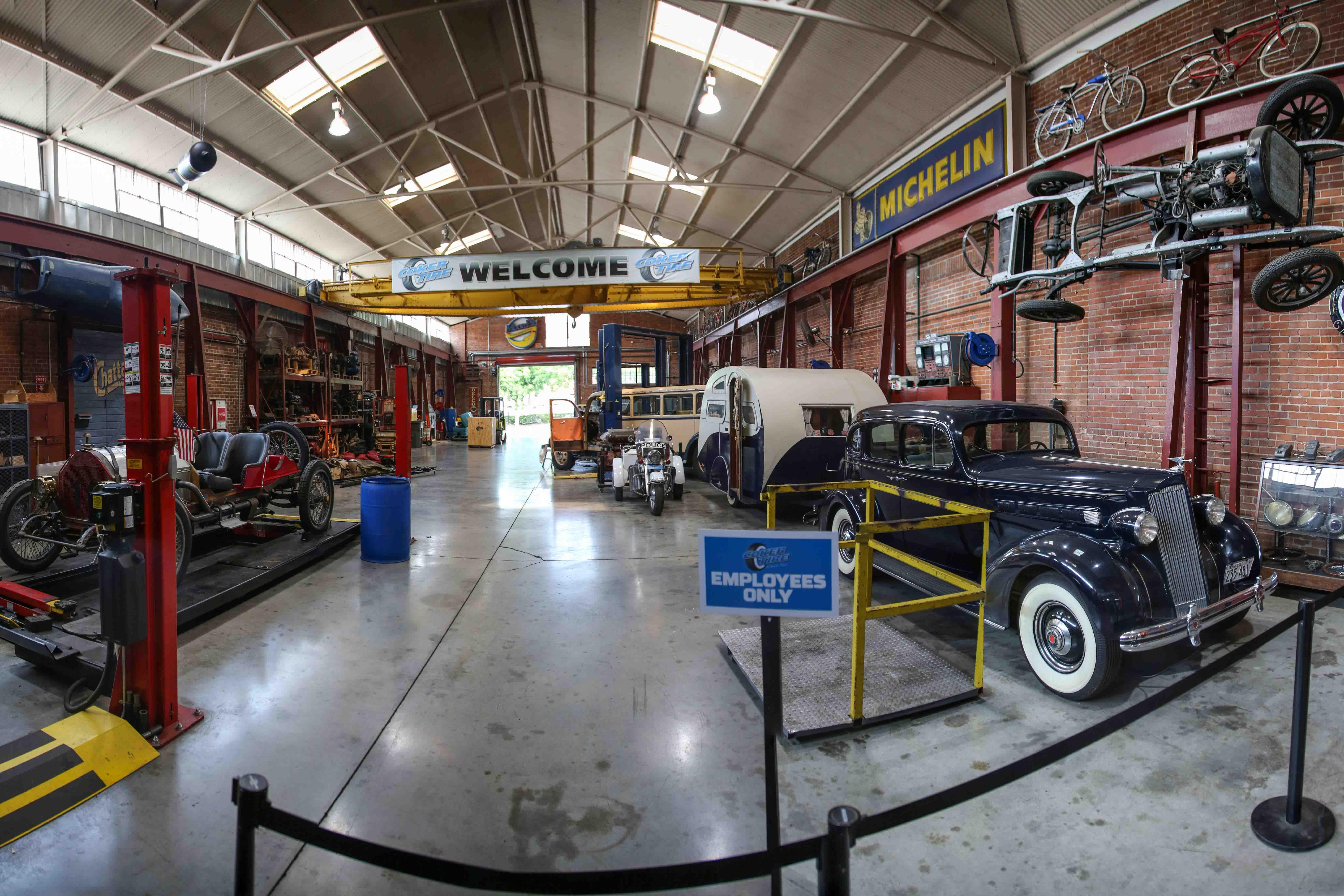 Inside the Coker Museum thumbnail