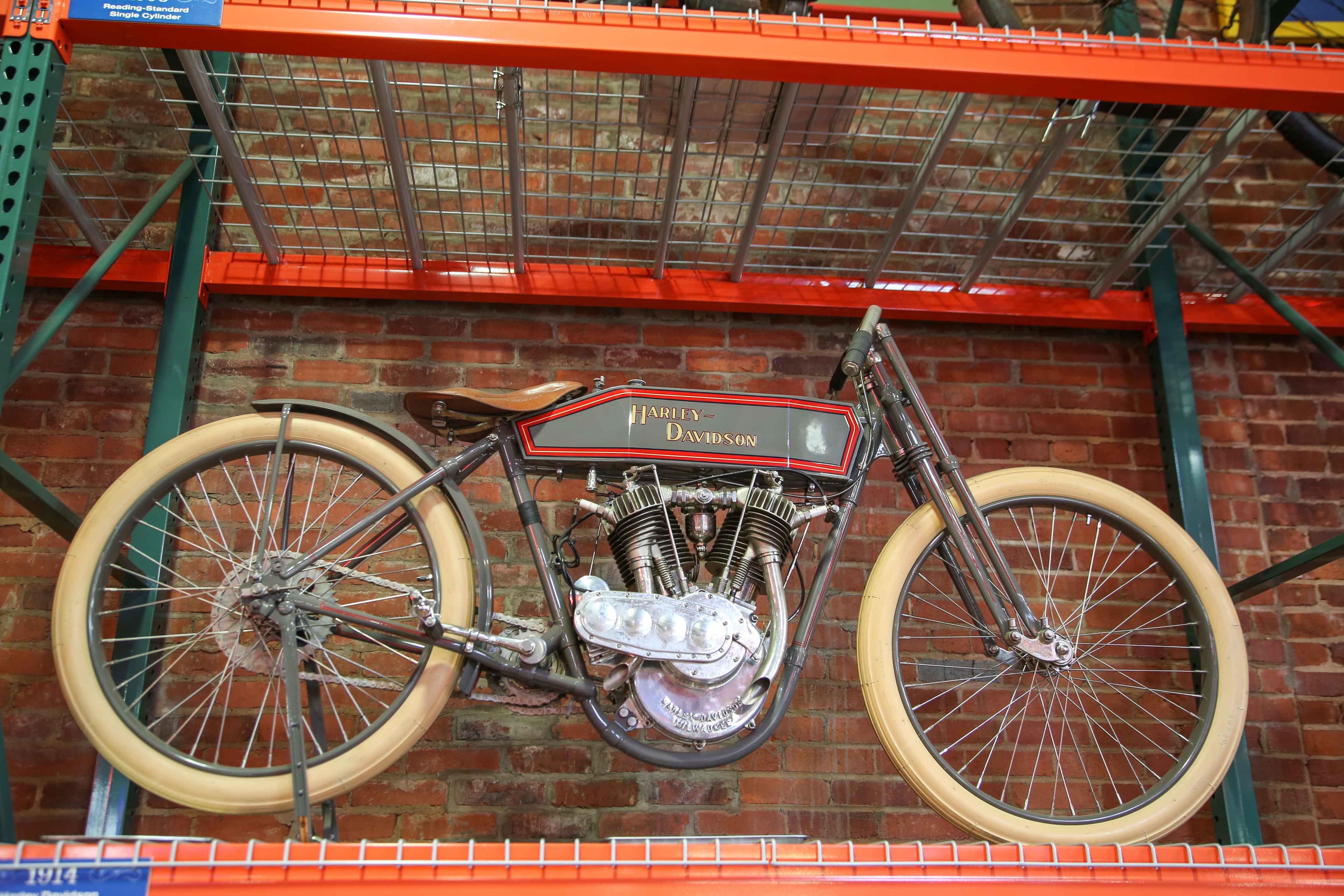 Coker Tire Museum harley davidson