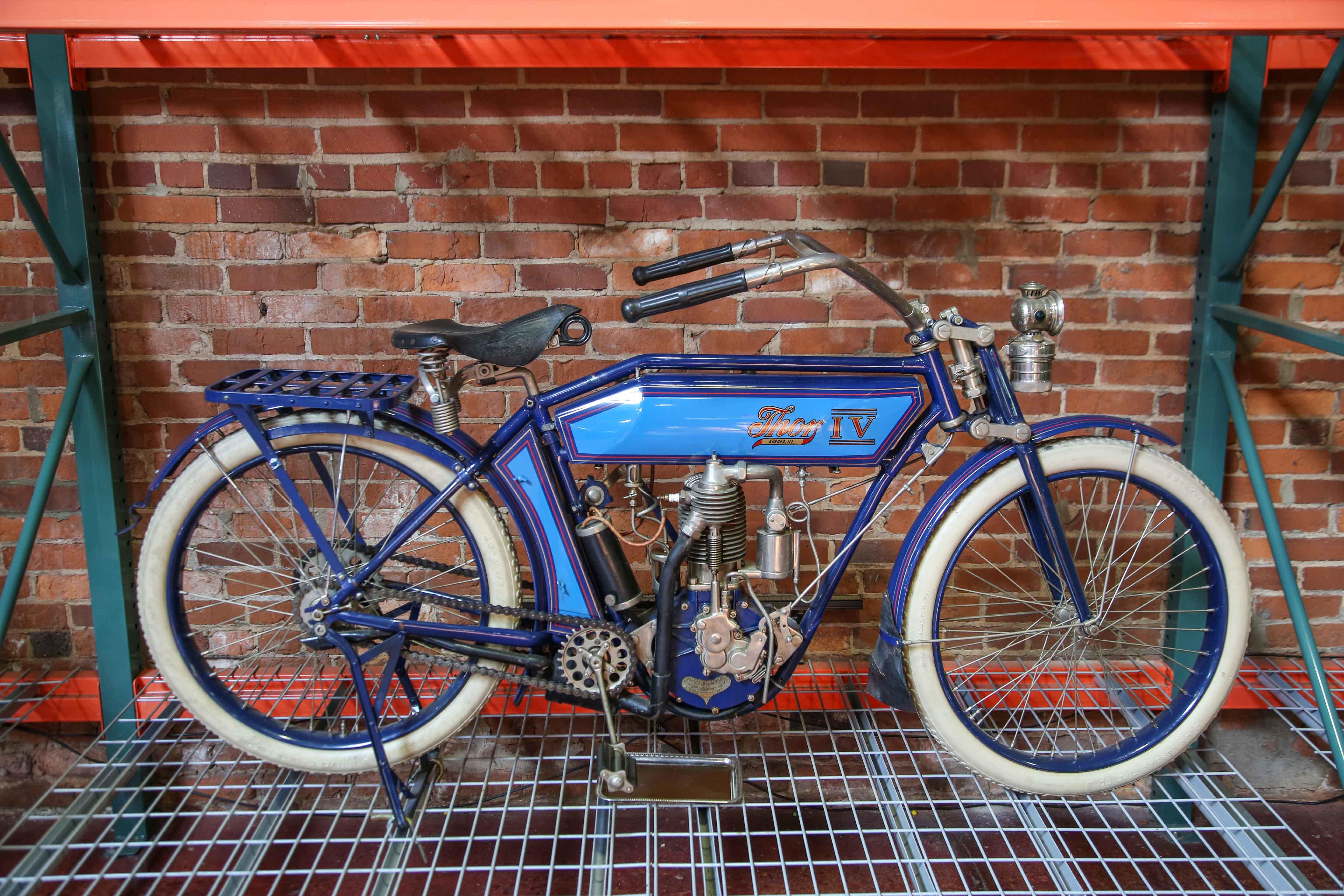 Coker Tire Museum blue Thor IV