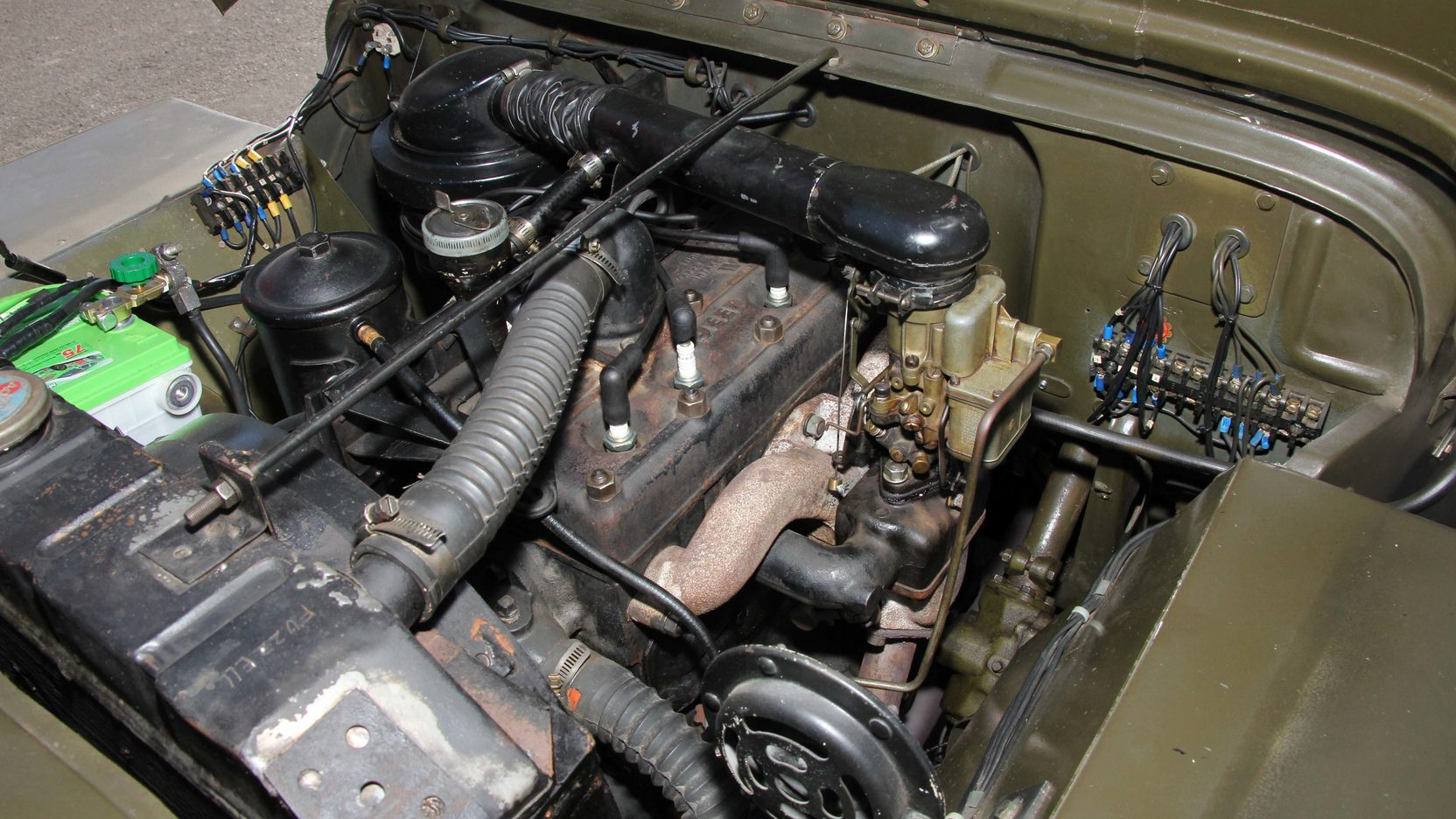 1948 Willys Military Jeep Engine