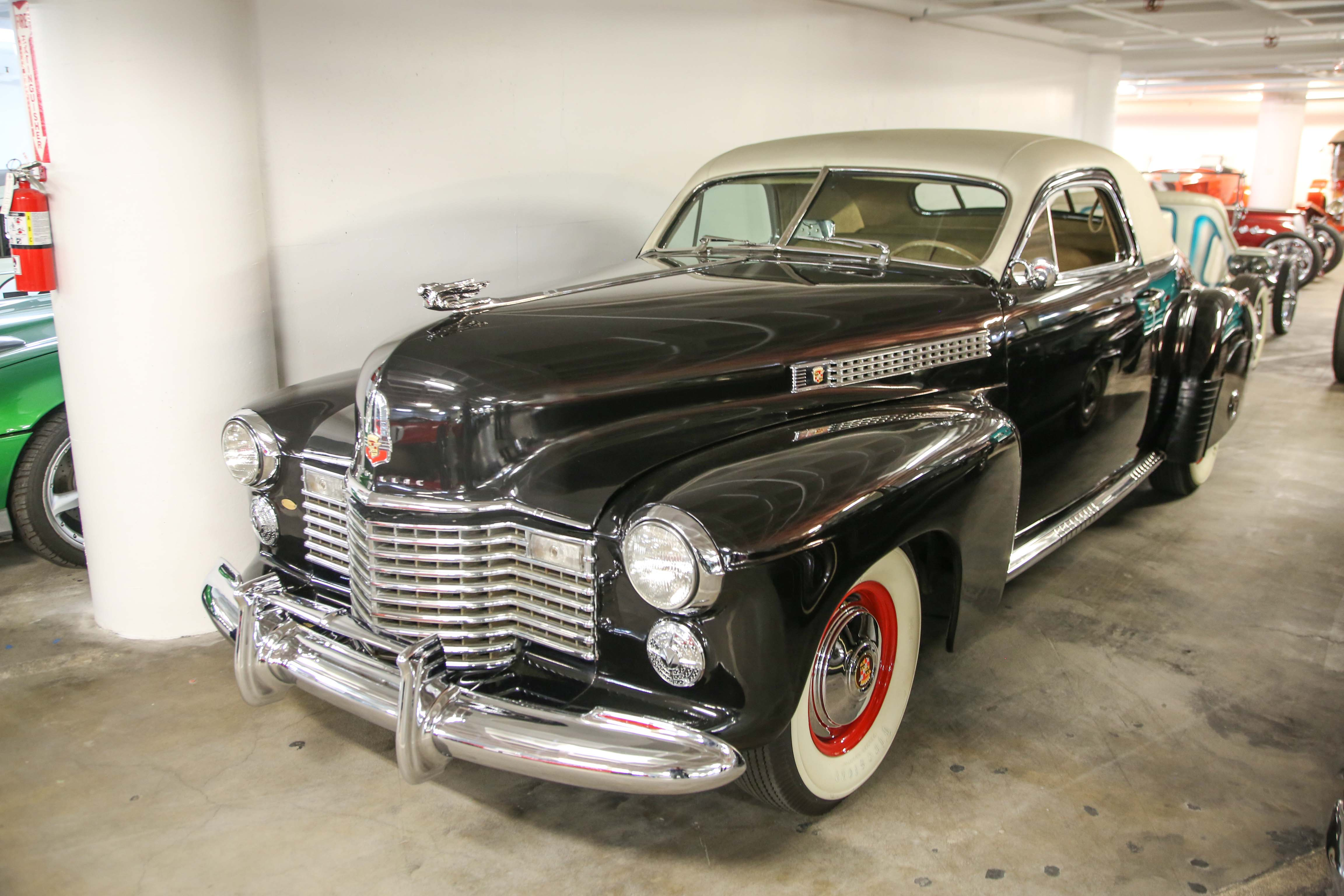 1941 Cadillac Series 62 Coupe clark gable