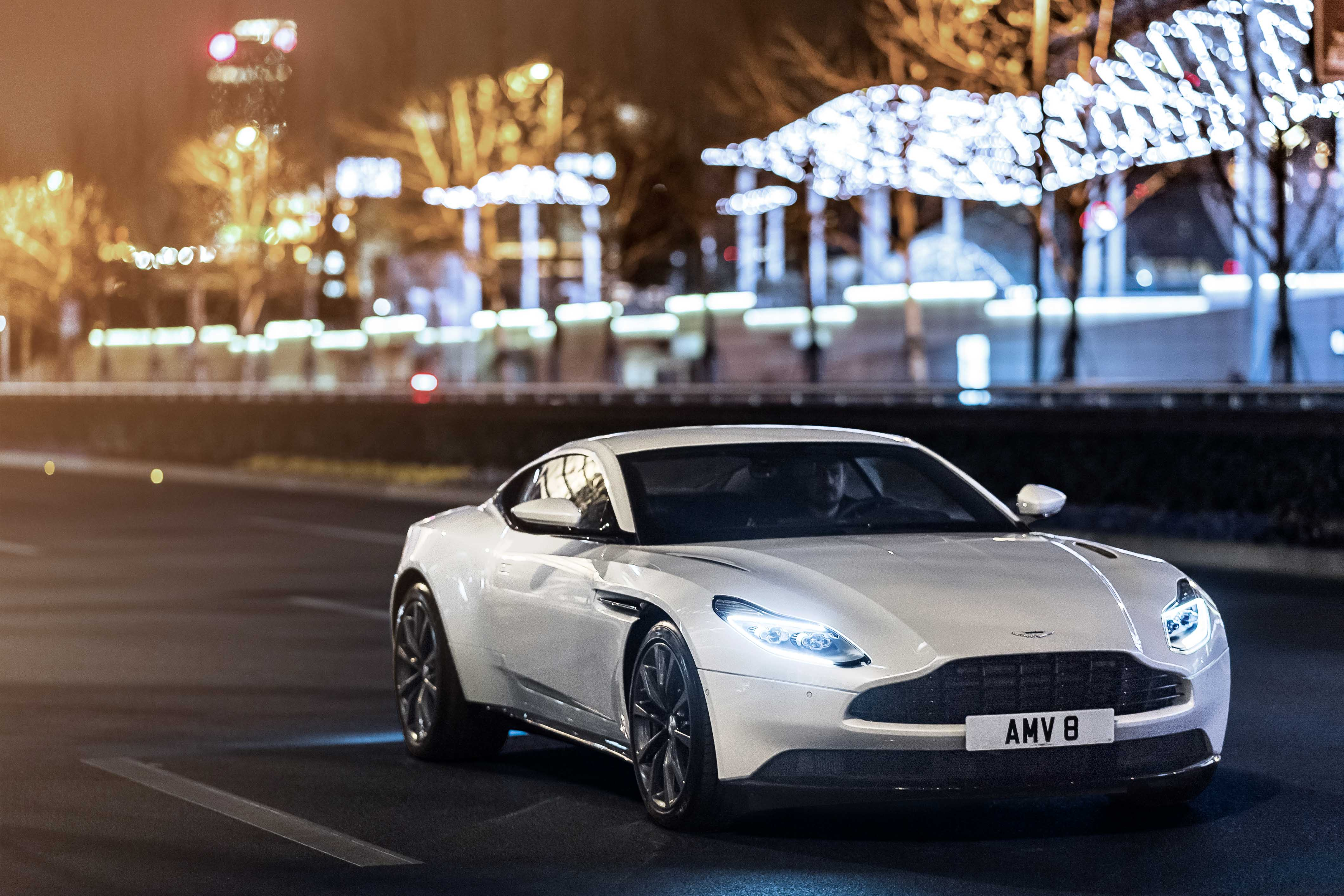 Even without all those extra cylinders, the DB11 V-8 delivers the performance and luxury one expects of a proper British gran turismo.