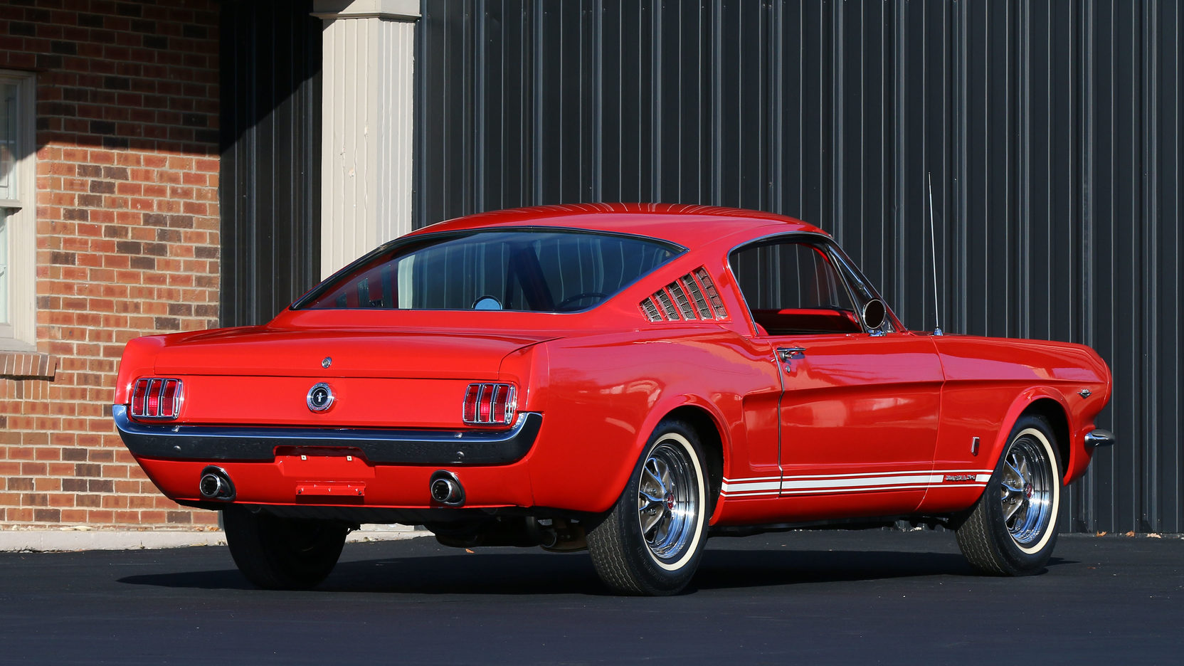 1965 Ford Mustang GT Rear 3/4