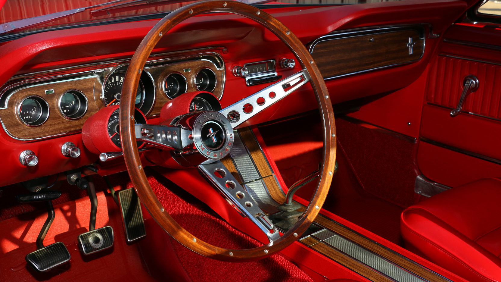1965 Ford Mustang GT Interior