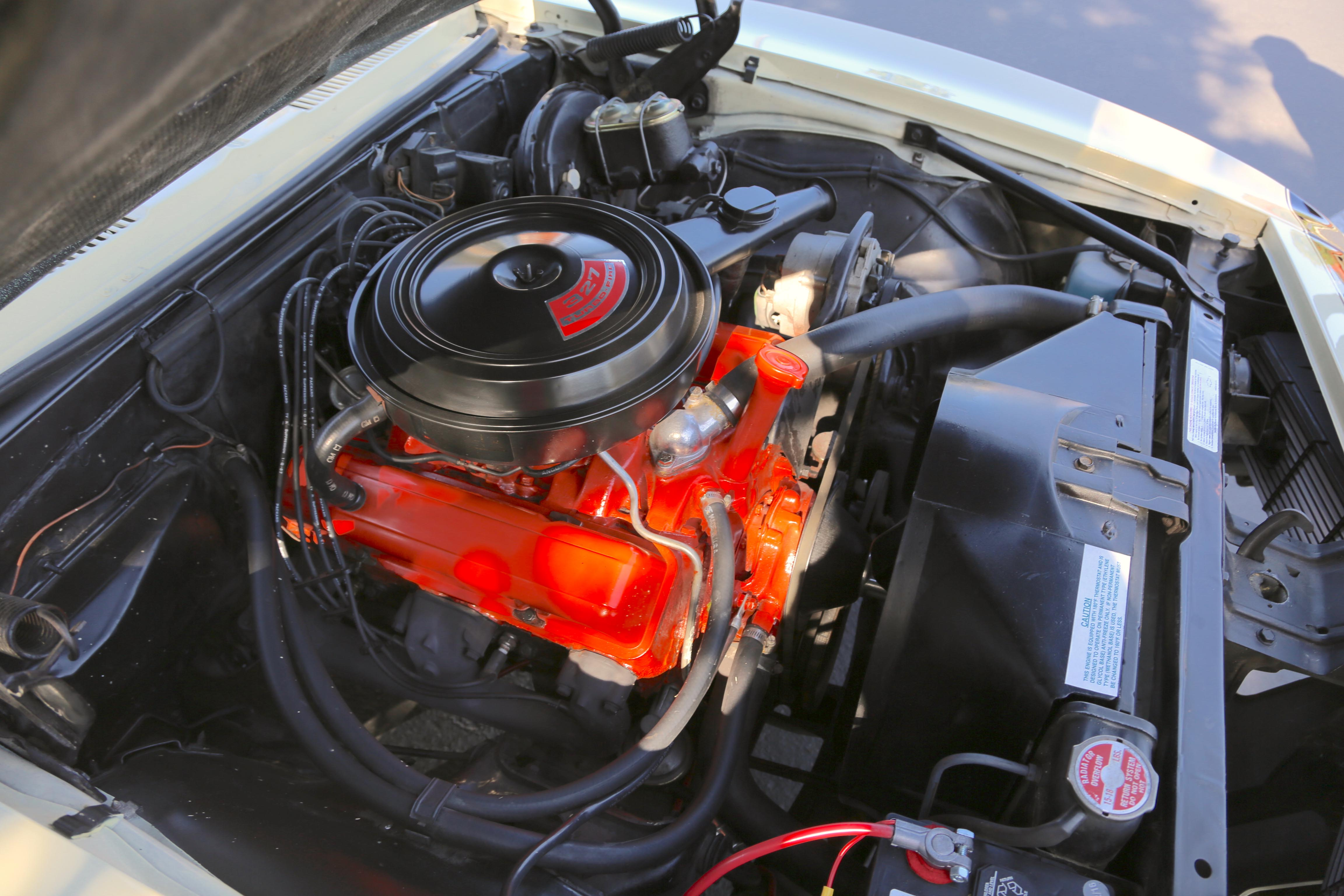 1968 Camaro Odd Options Engine