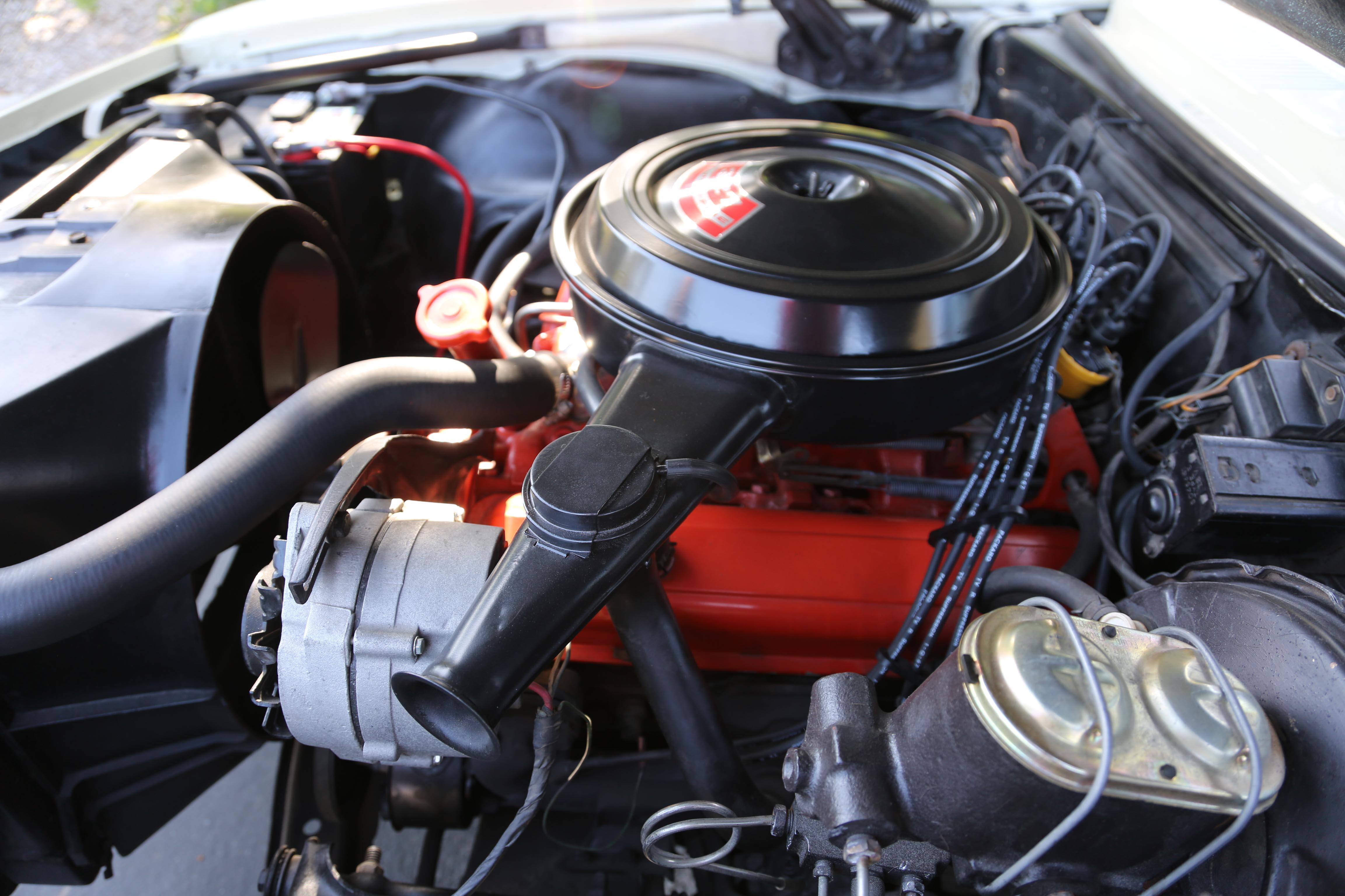 1968 Camaro Odd Options Engine drivers side