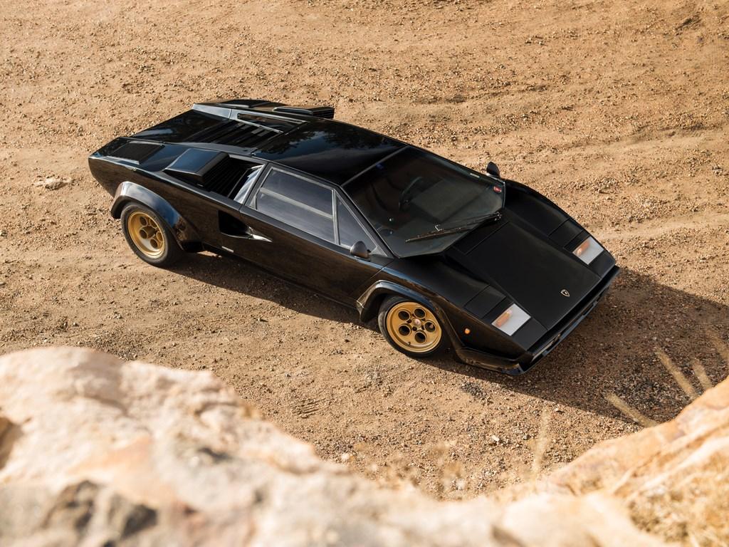 1979 Lamborghini Countach LP400 S Series I overhead